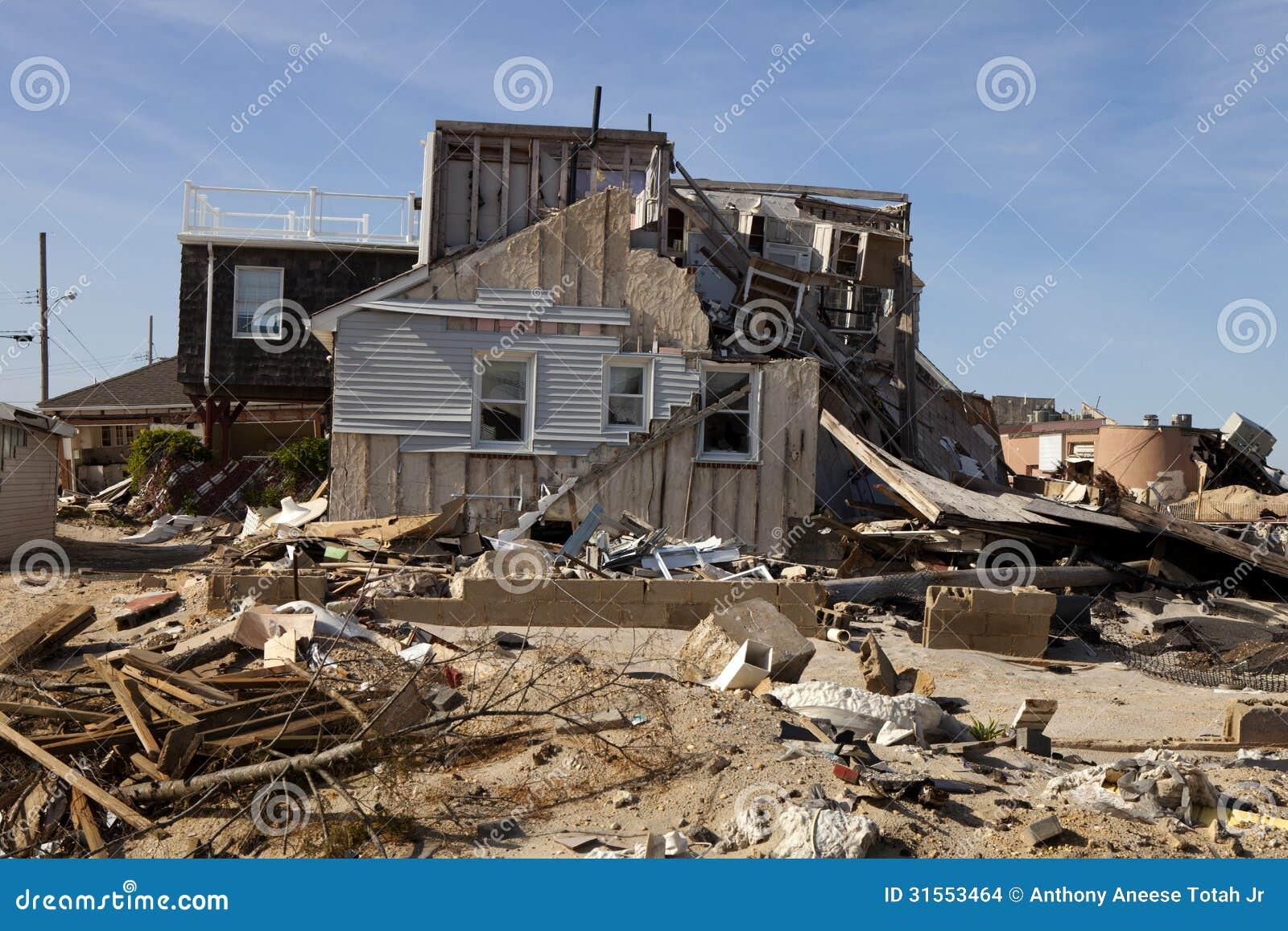 Hurricane Sandy Damage Stock Images Image 31553464