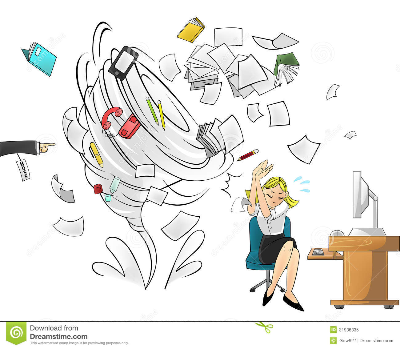 Free Clipart Images Office Work