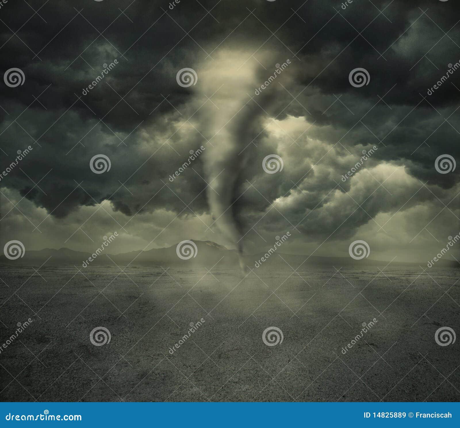 Hurrikan in der Wüste