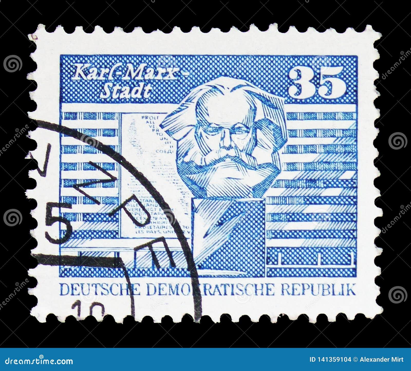 Hus av tillståndsorganen, Karl-Marx-Stadt, konstruktion i GDR-serien, circa 1989