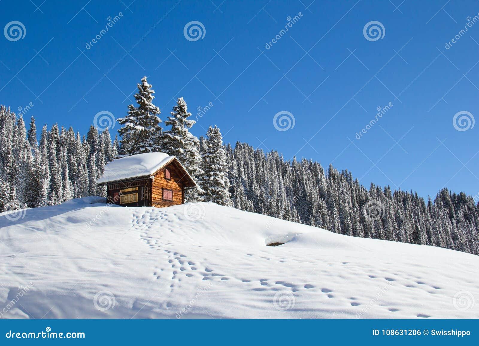 Hus för vinterferie