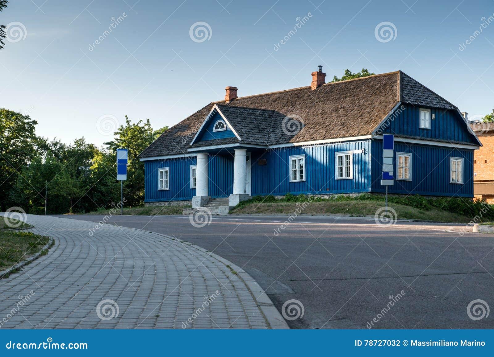 Hus gammala lithuania