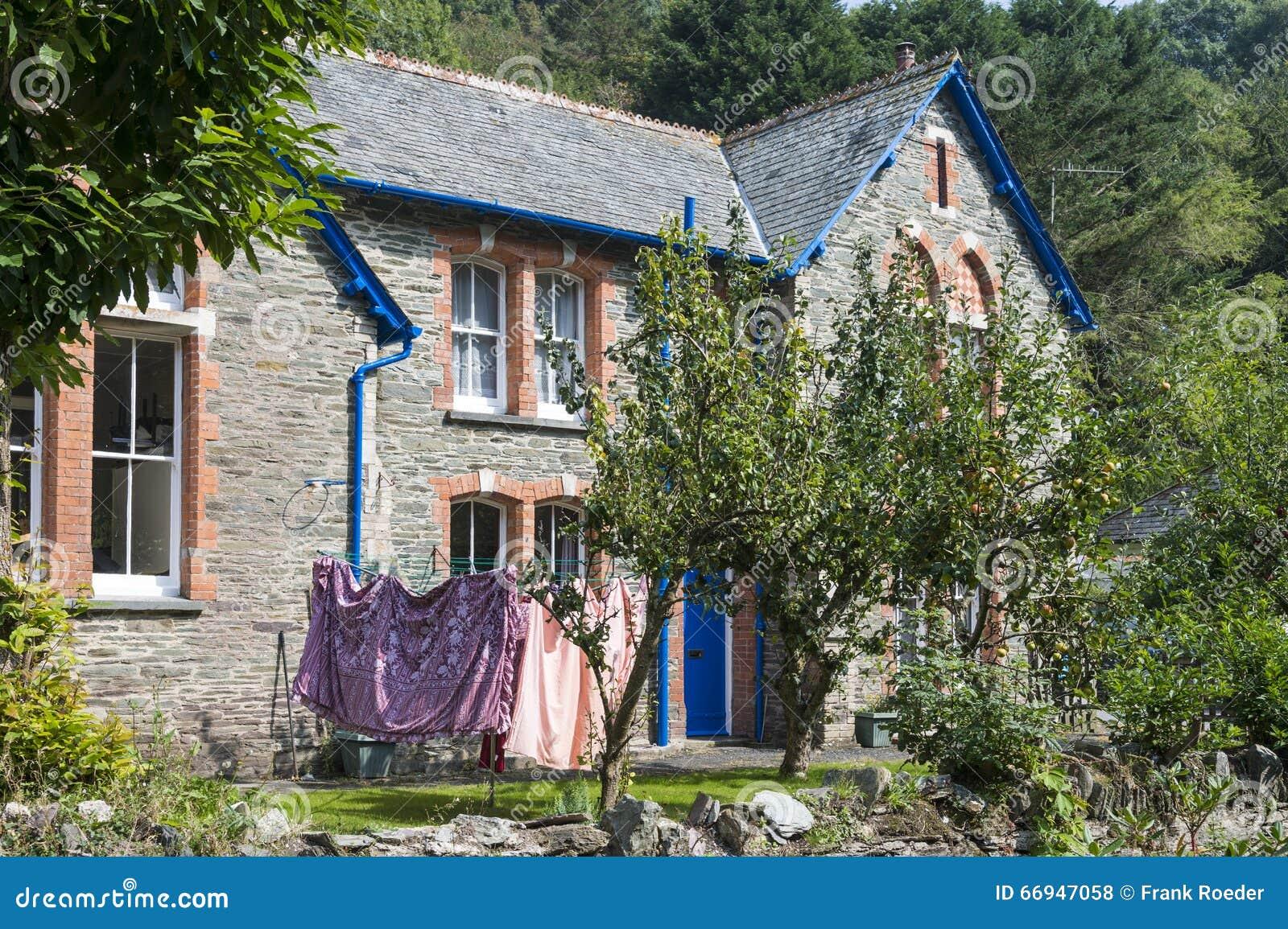 Hus med tvätteriutrymme