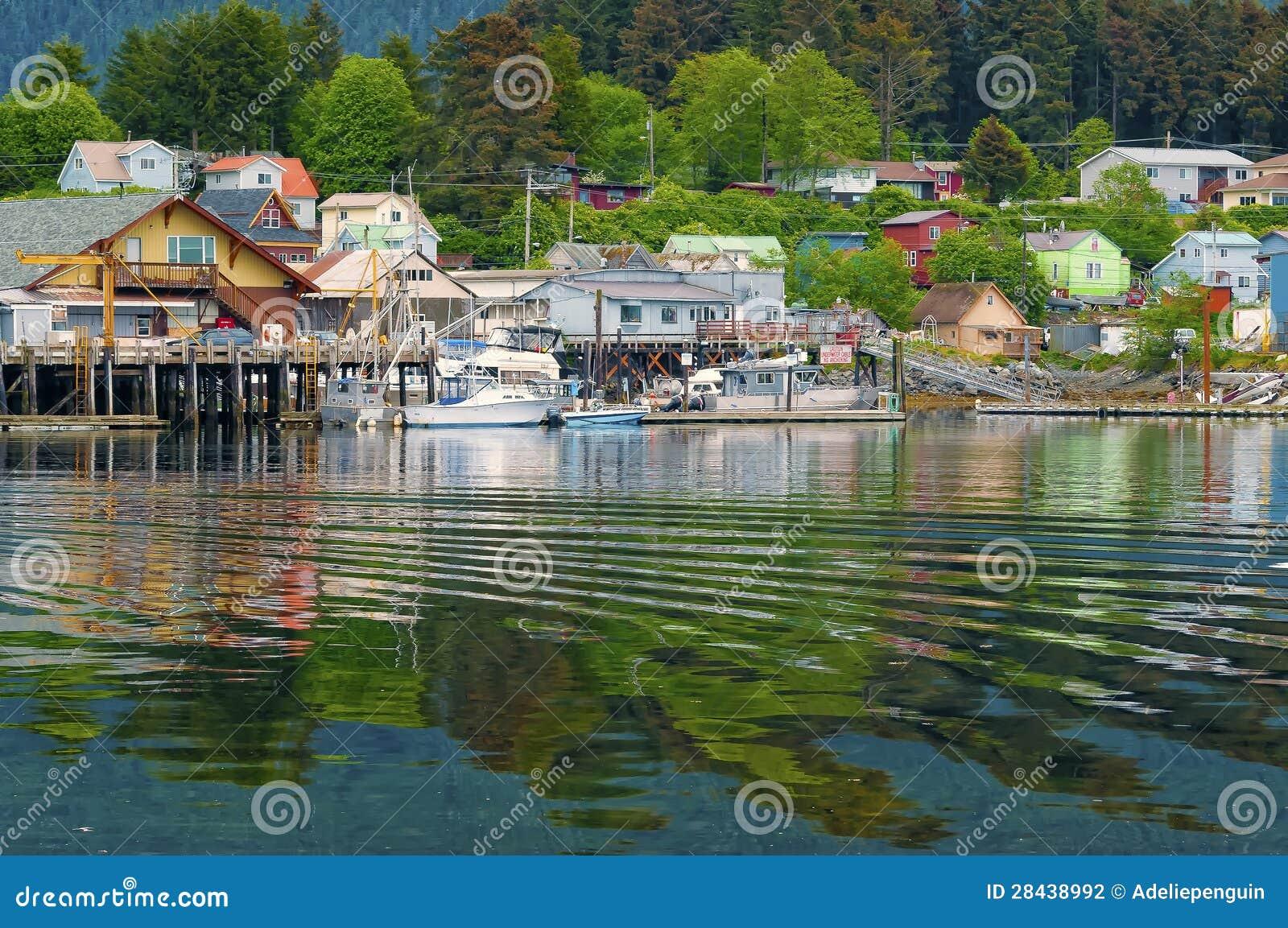 Hus och affärer, Sitka Alaska