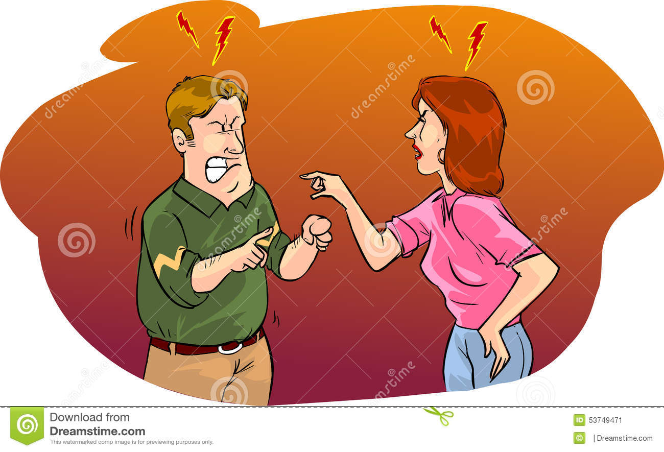 arguing with husband