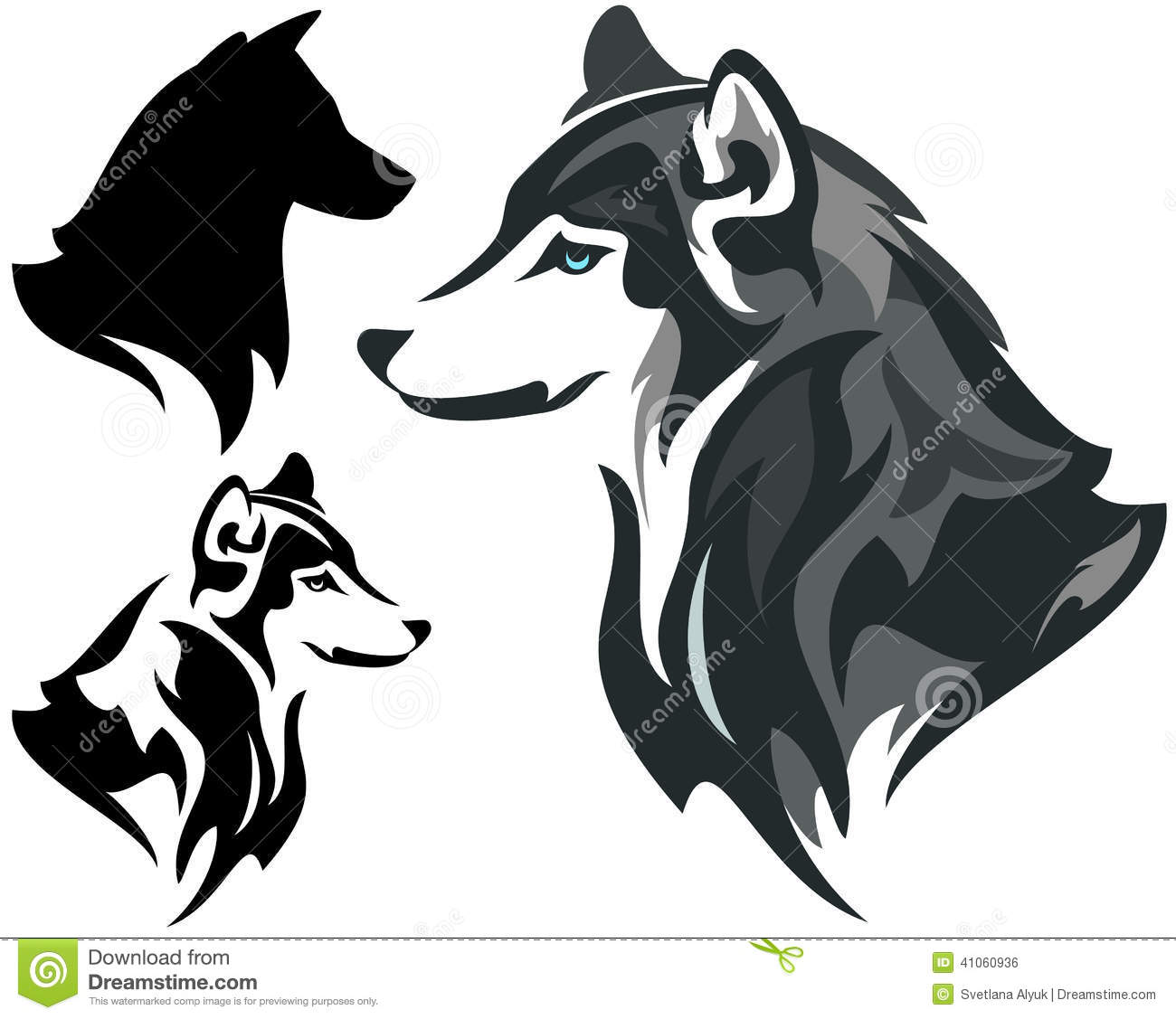 Husky Stock Illustrations – 2,666 Husky Stock Illustrations ...