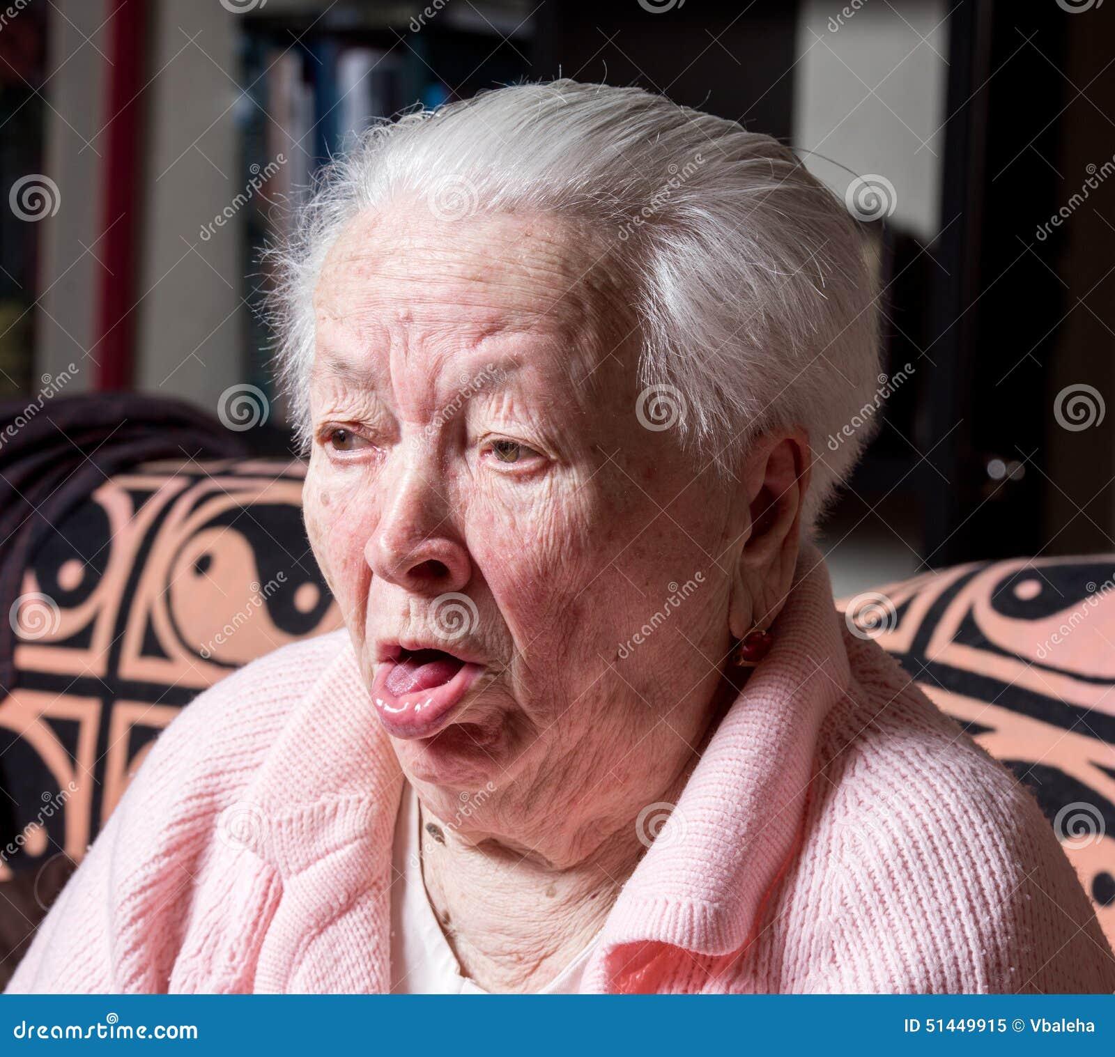 Porno der alten Frau