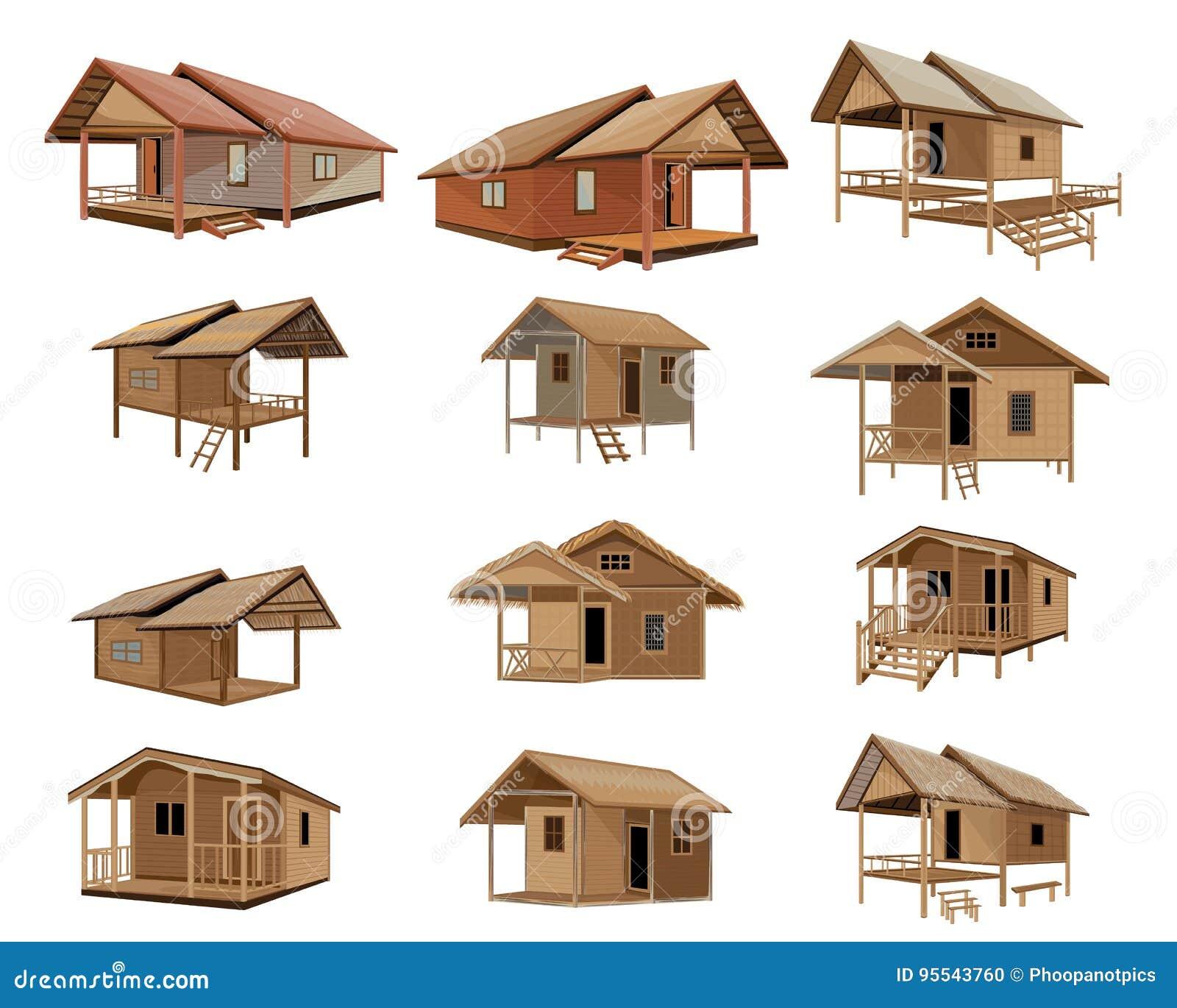 Hut Design: Hut Design Stock Vector. Illustration Of House, Home