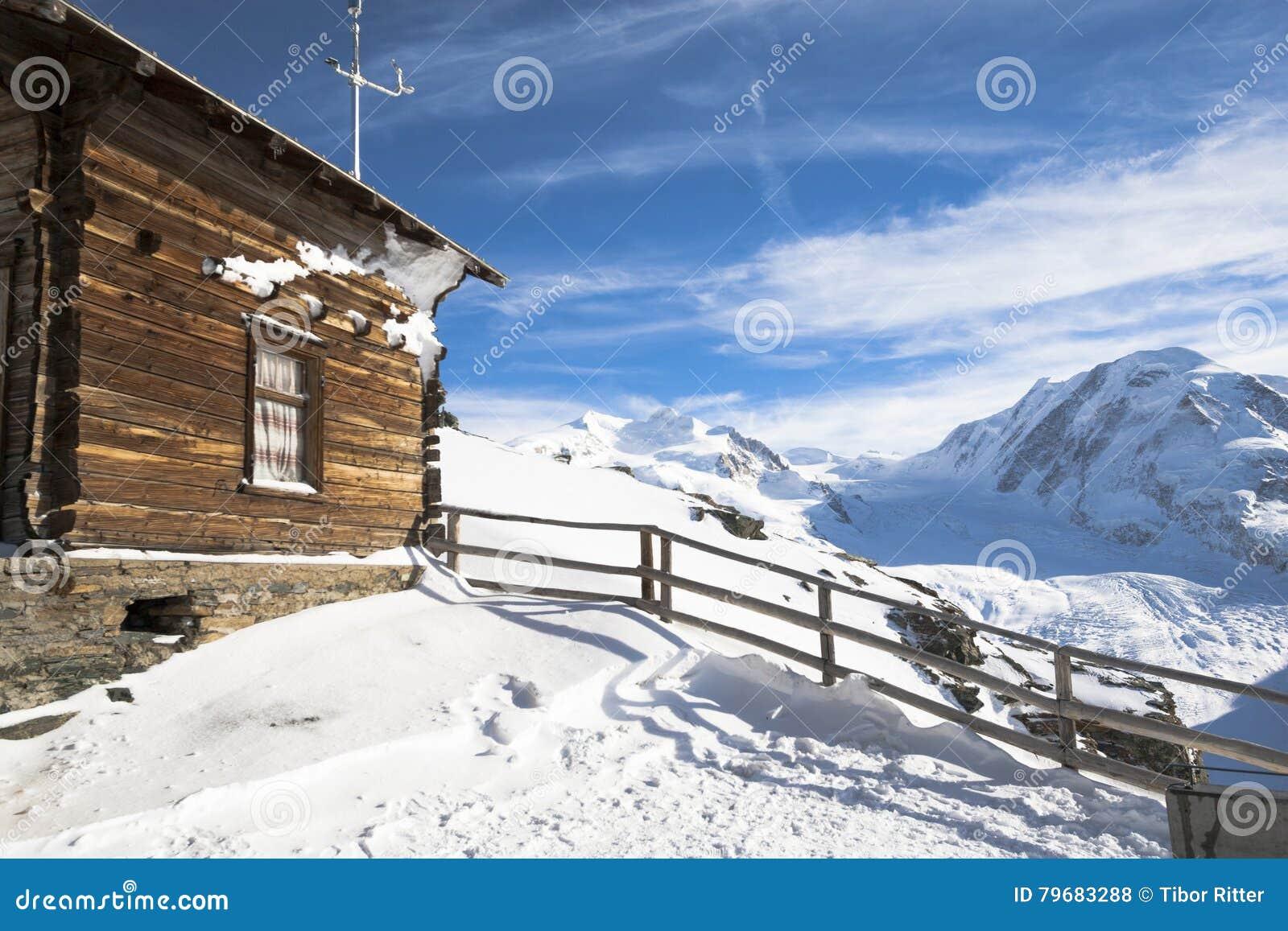 Hut on the Gornergrat