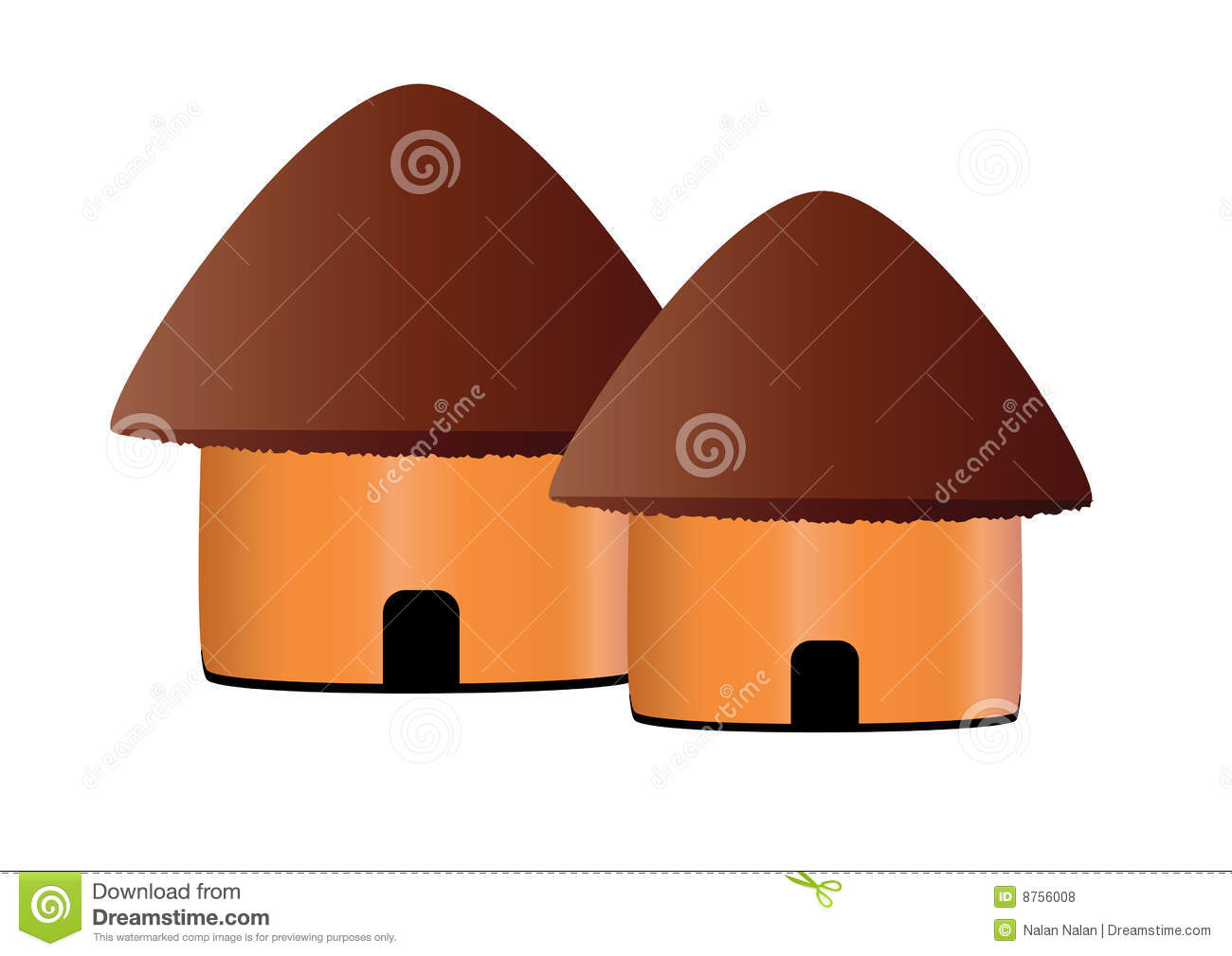 Hut Icon Royalty Free Stock Photos Image 8756008