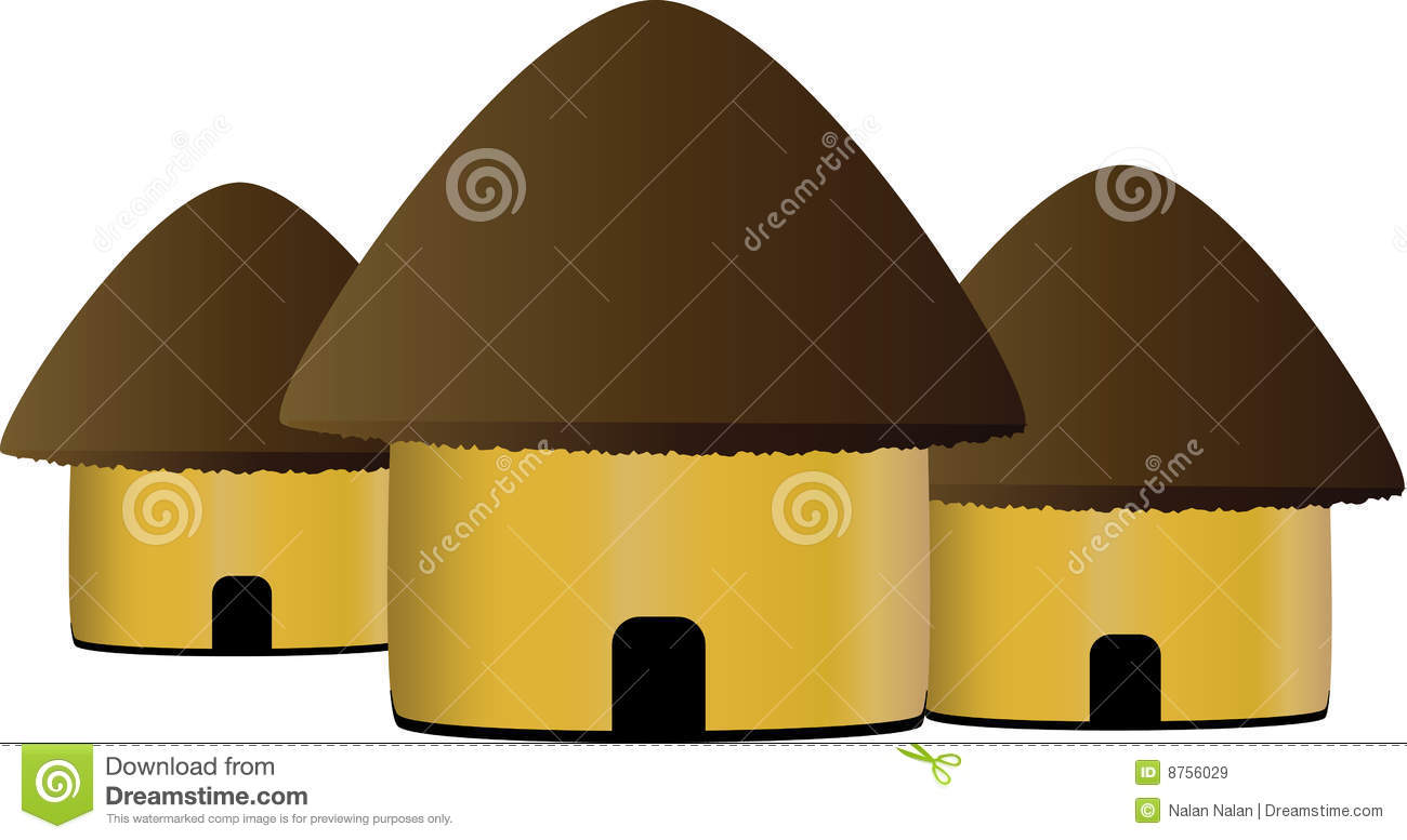 Download image African Hut Clip Art PC, Android, iPhone and iPad