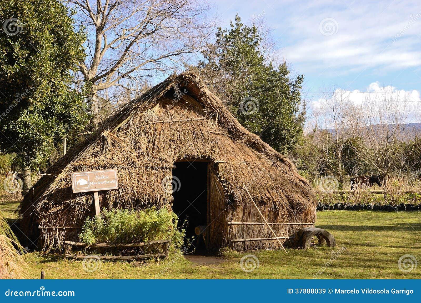 Hutte de Mapuche