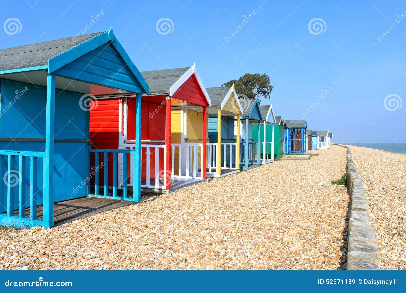 Huttes britanniques de plage