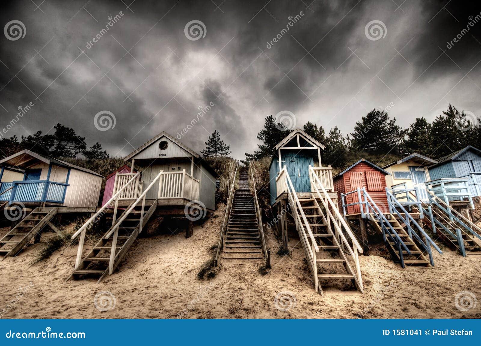 Huttes de plage