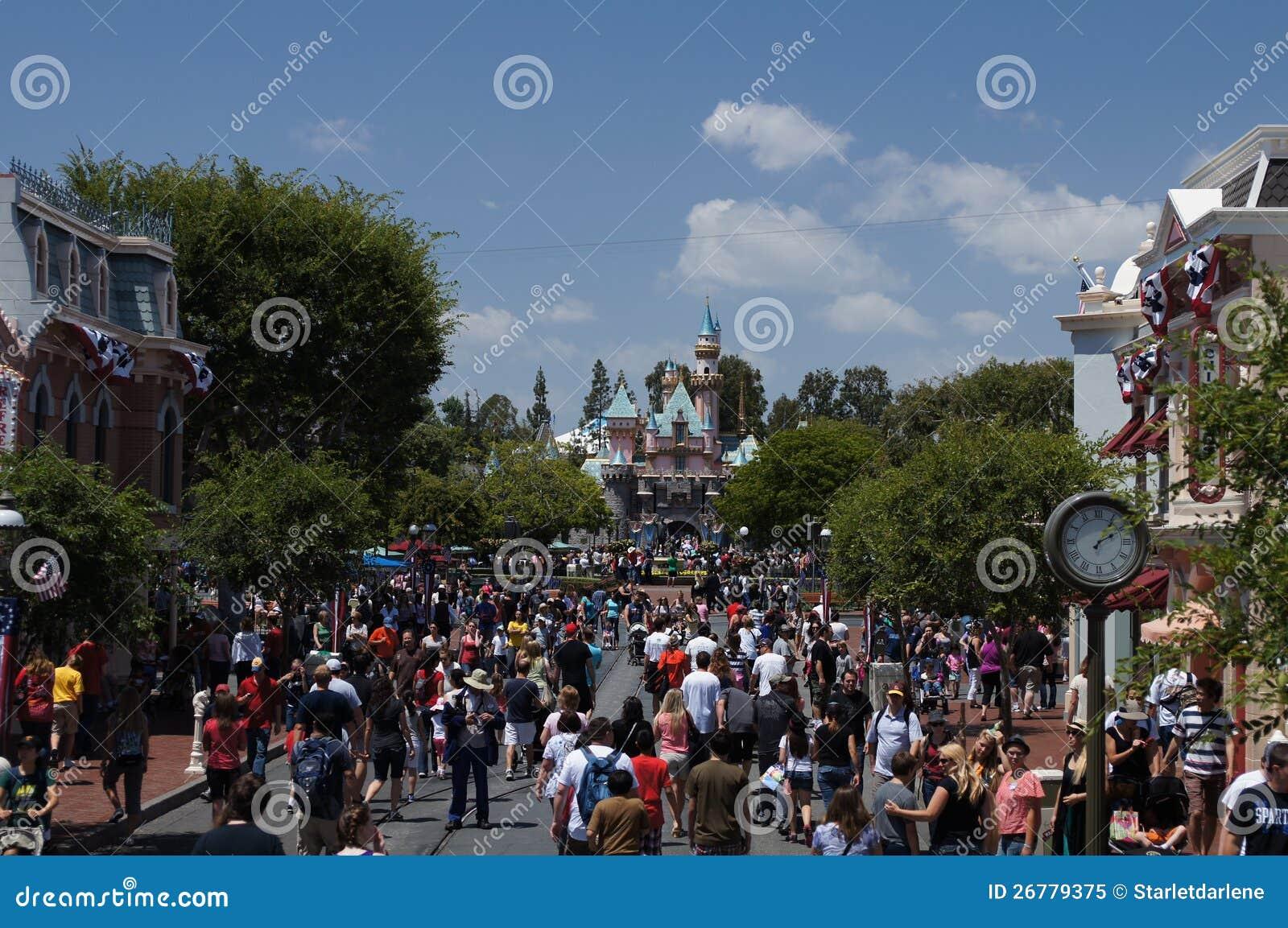 Huvudgata Disneyland