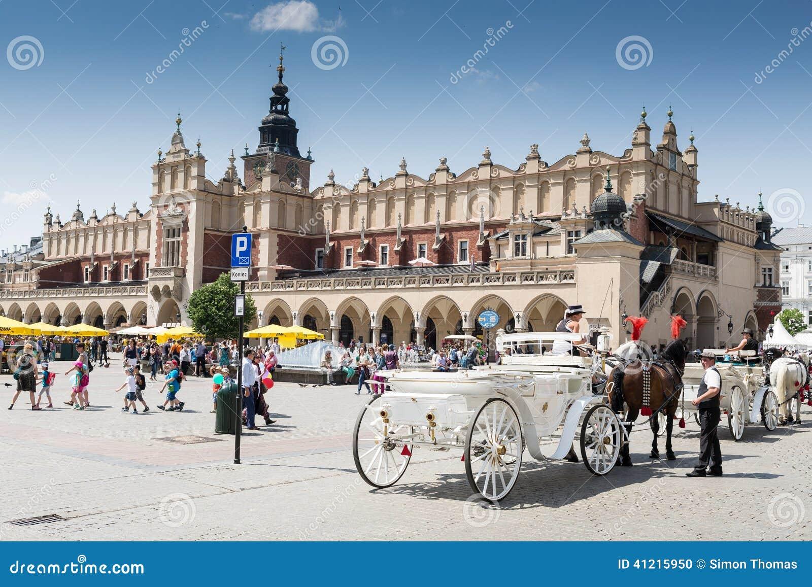 Huvudsaklig fyrkant, Krakow