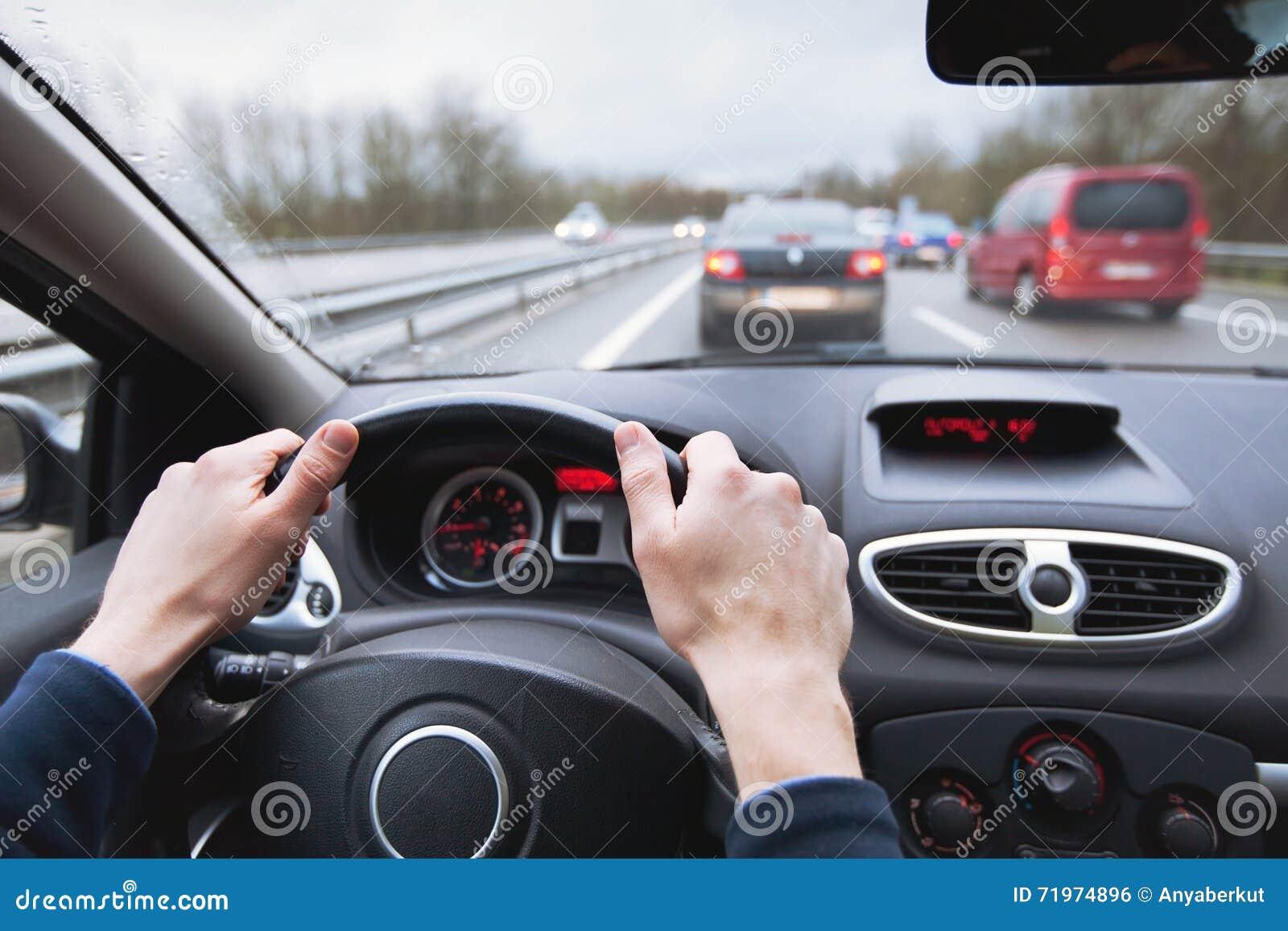 Huvudväg för bilkörning