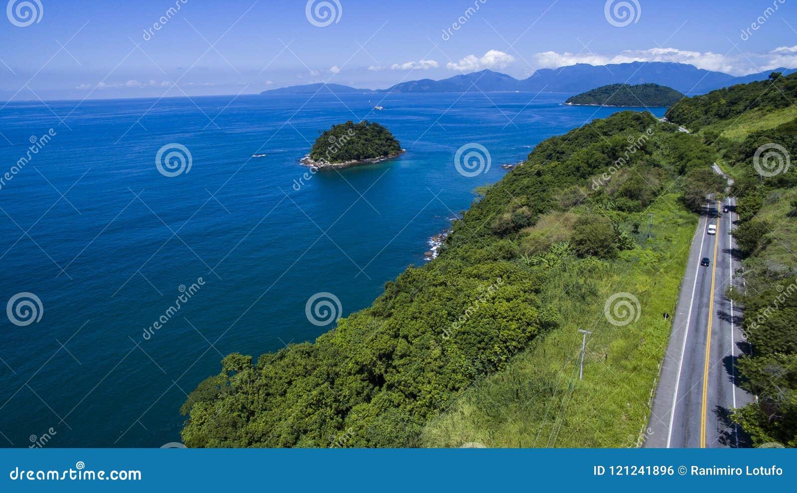 Huvudväg längs havet, huvudvägAngra DOS Reis till Rio de Janeiro