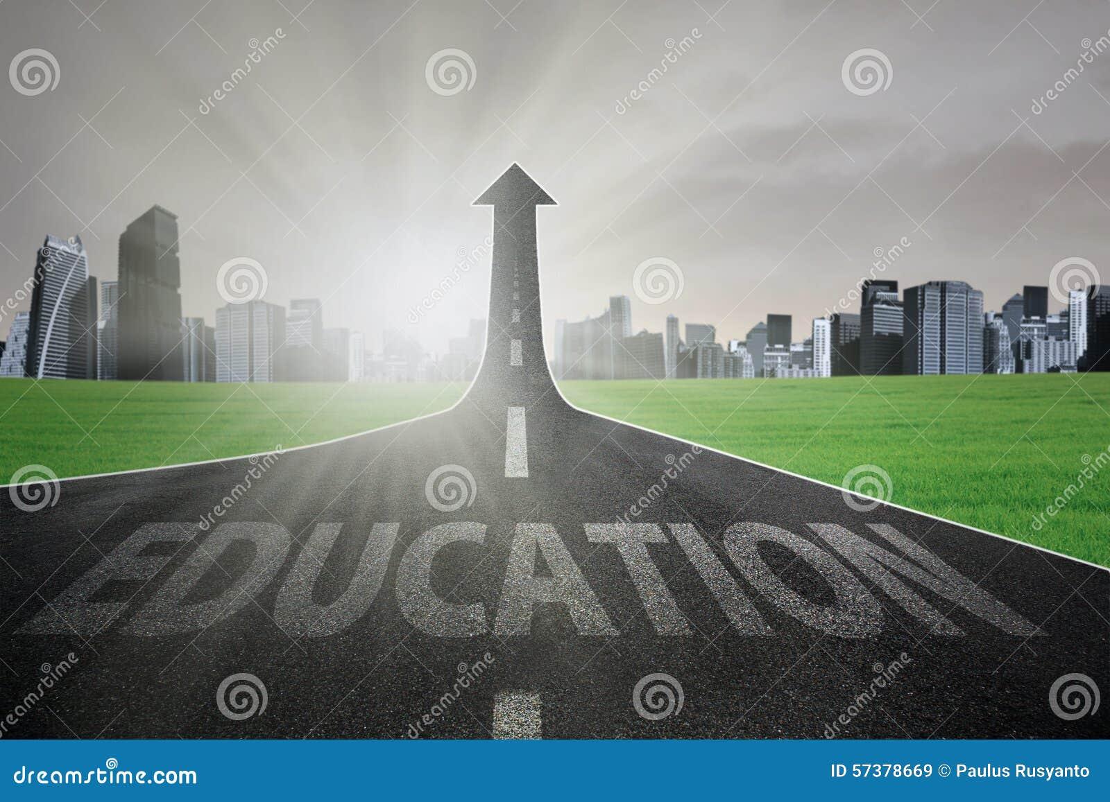 Huvudväg som får bättre utbildning