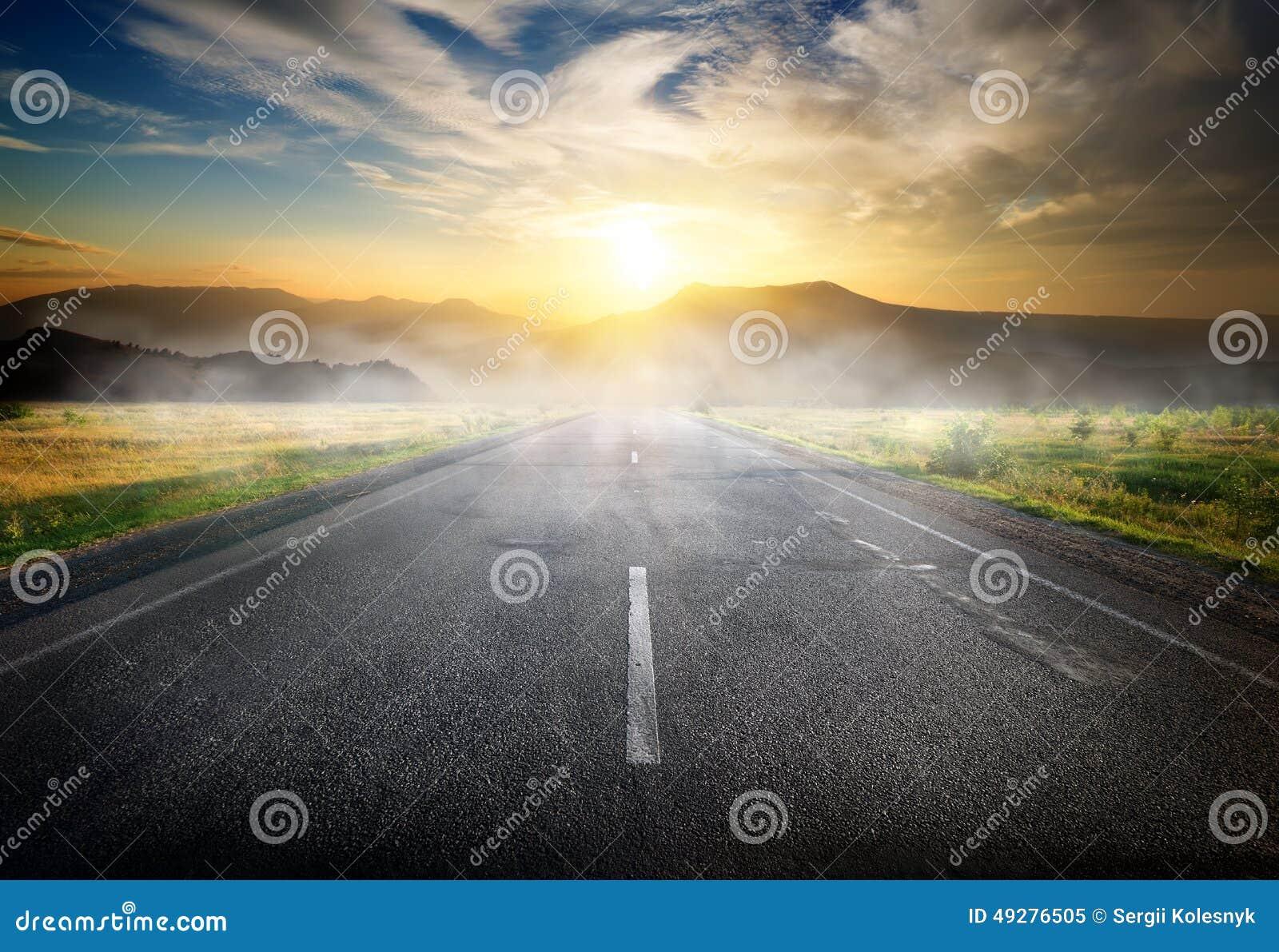 Huvudväg till berg