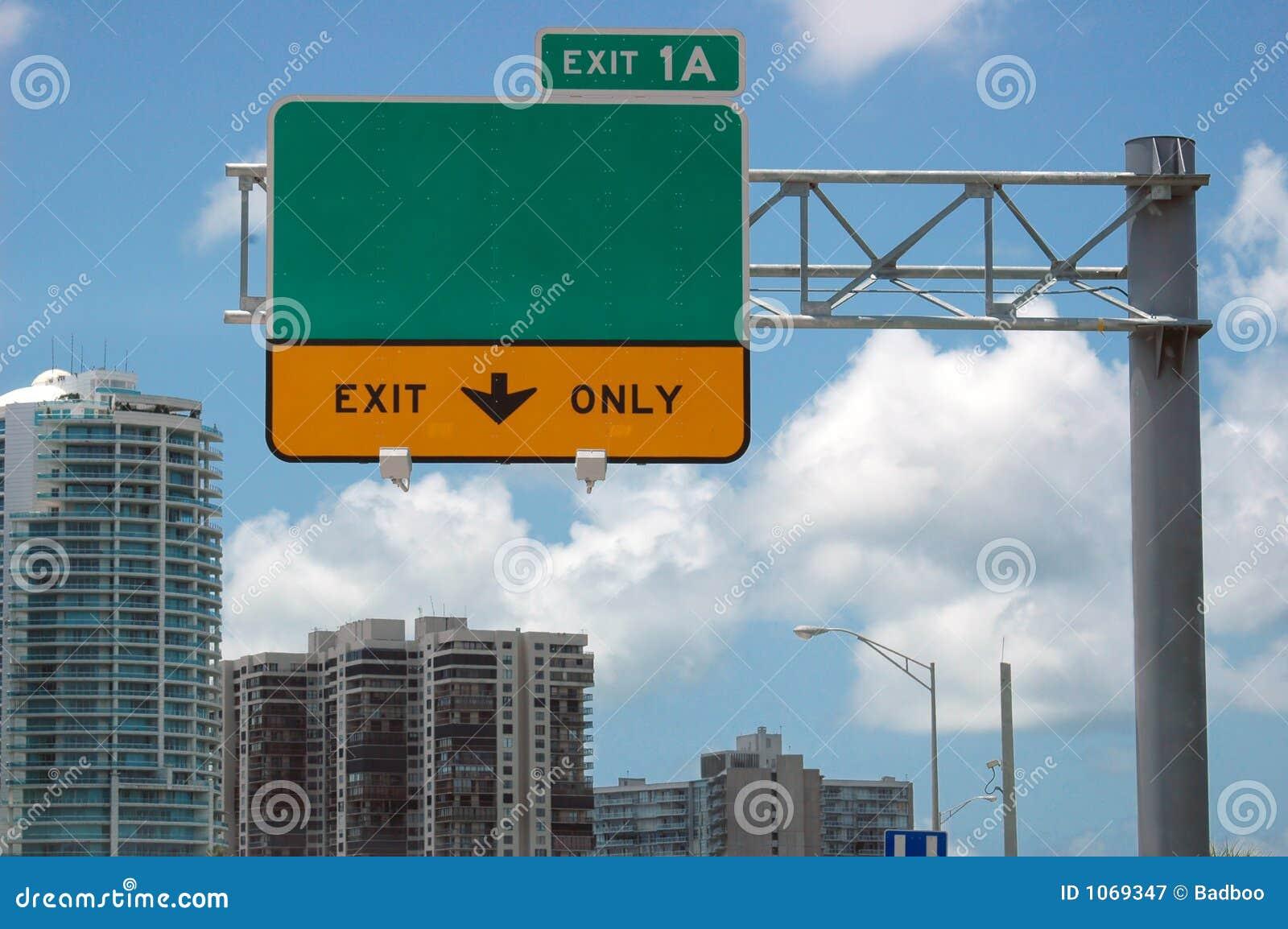 Huvudvägtecken