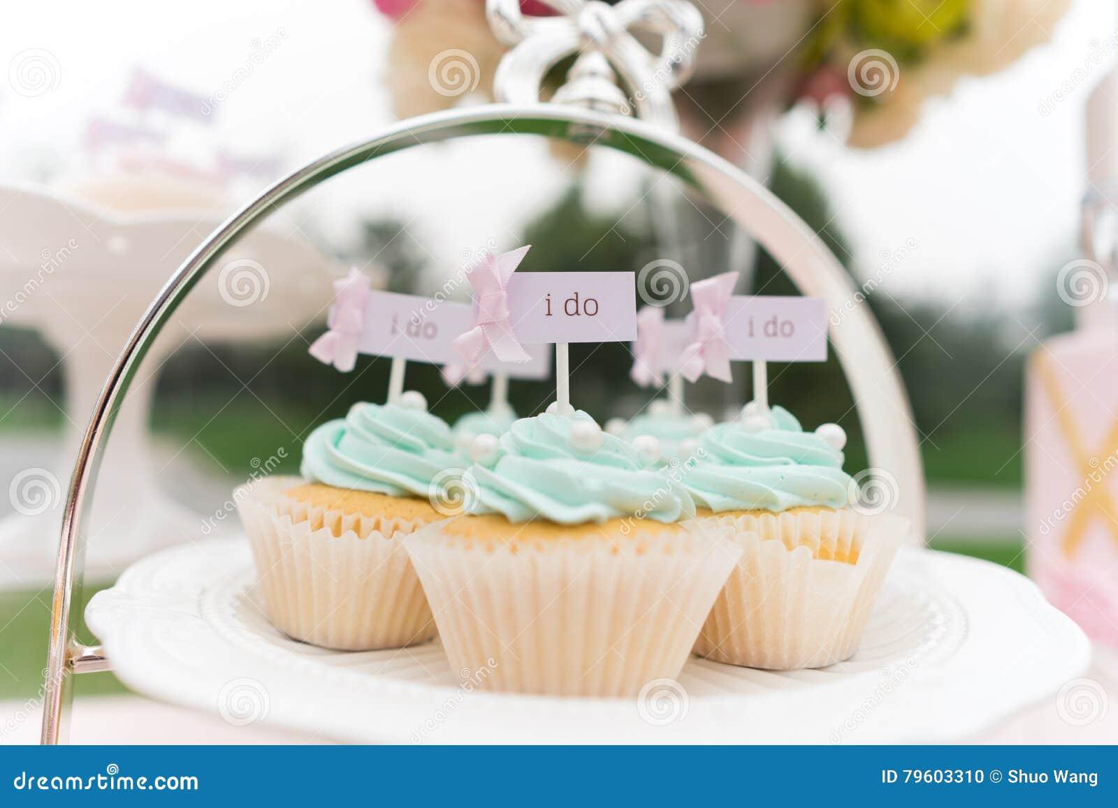 Huwelijk cupcake