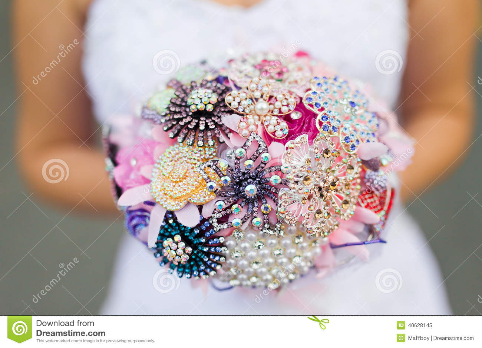 Huwelijksboeket van de bruid