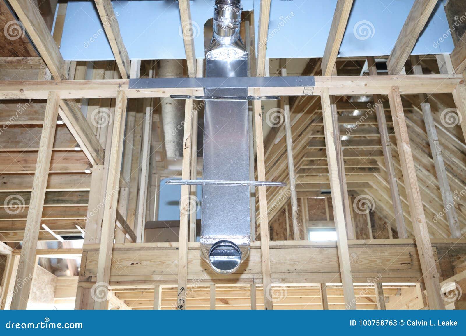 HVAC-Buis voor Huis Ventillation