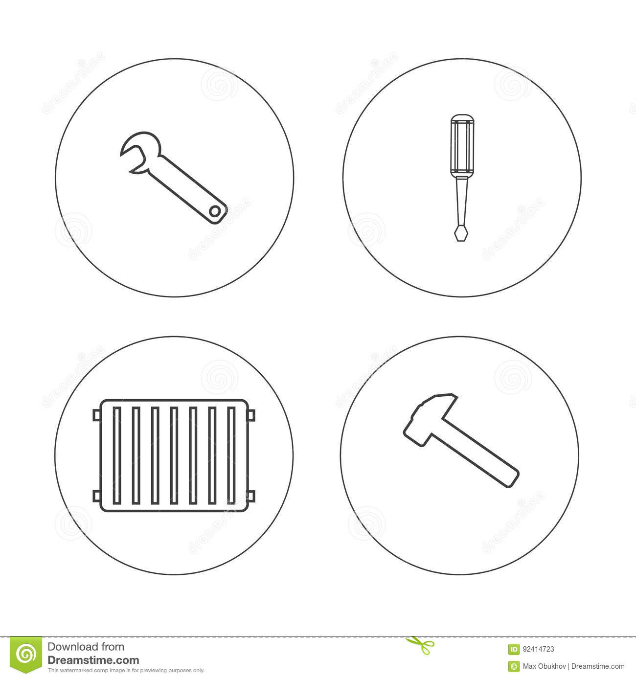 Stock Illustration Hvac Heating Repair Tools Logo Set Elemets Elemets Hummer Wrench Screwdriver Circle White Background Tankless Image92414723 further Water Heater Parts Diagram additionally Electric Water Heater Piping Diagram moreover Wiring Diagram For Rheem Hot Water Heater moreover Base Board Heaters 415207. on tankless water heater