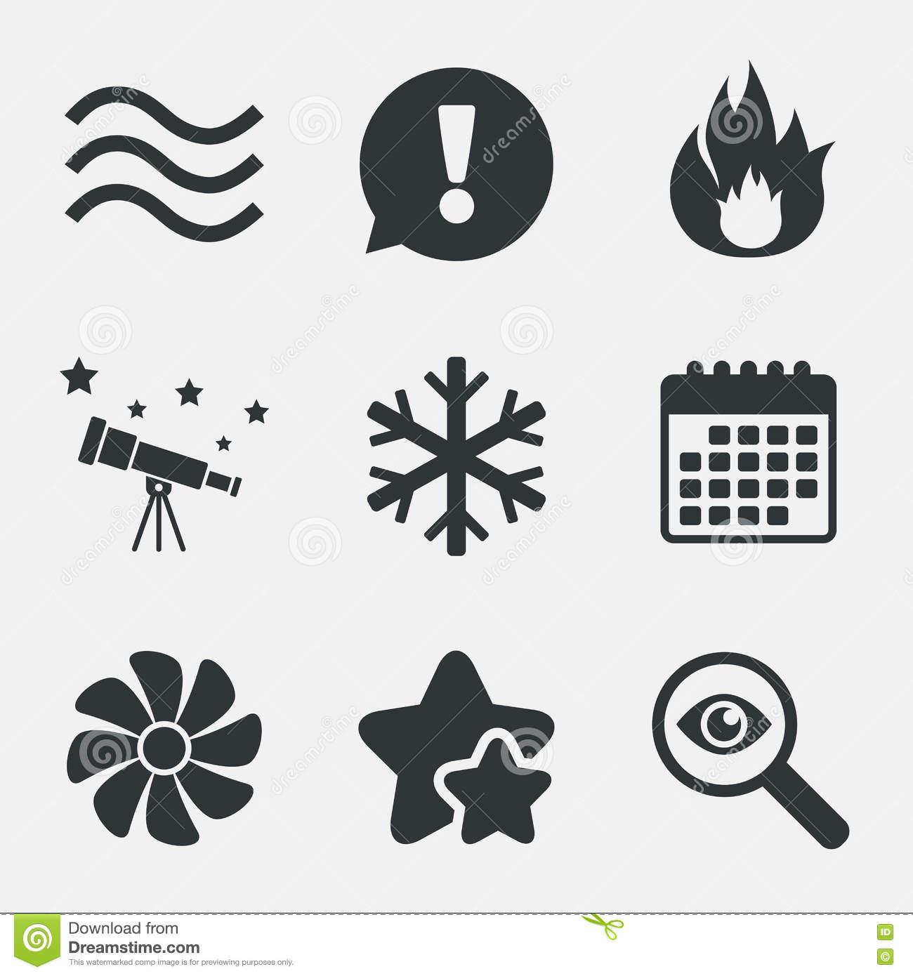 Hvac Heating Ventilating And Air Conditioning Stock Vector