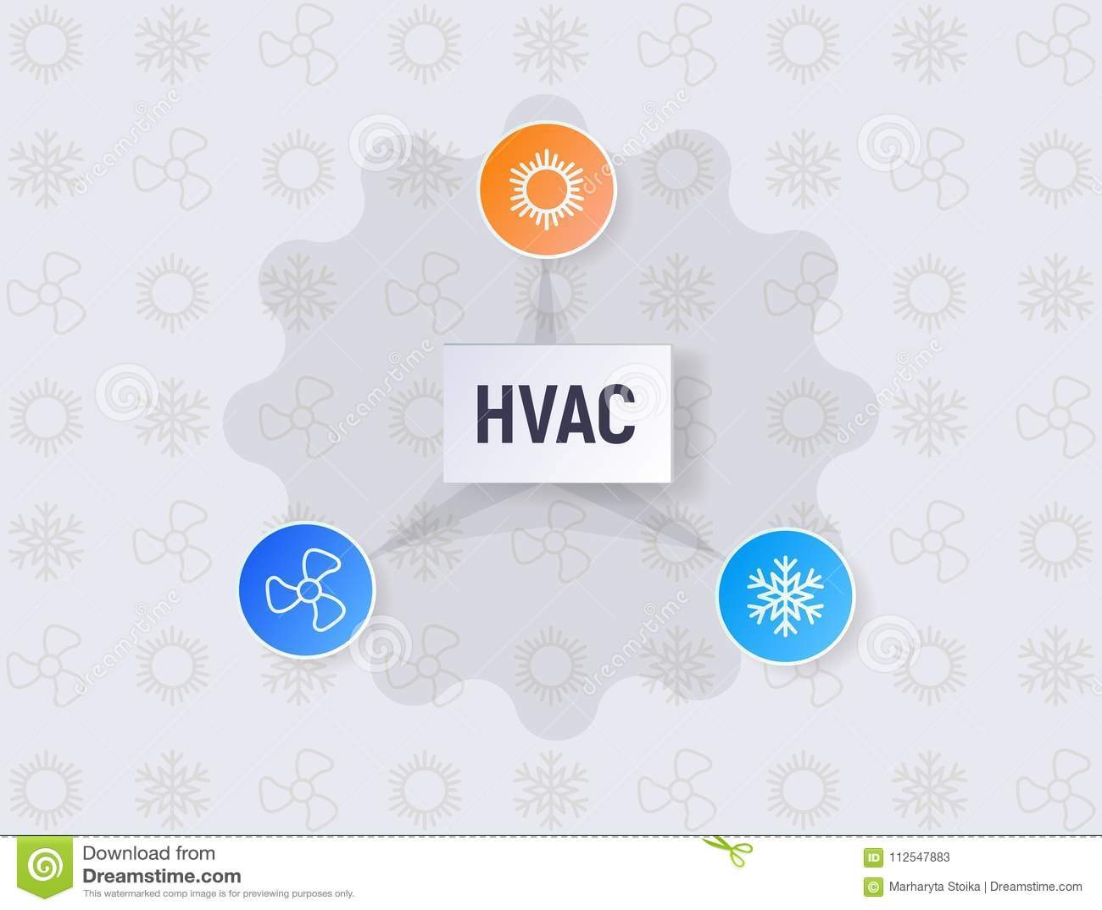 Hvac Infographics Stock Vector Illustration Of Sign 112547883