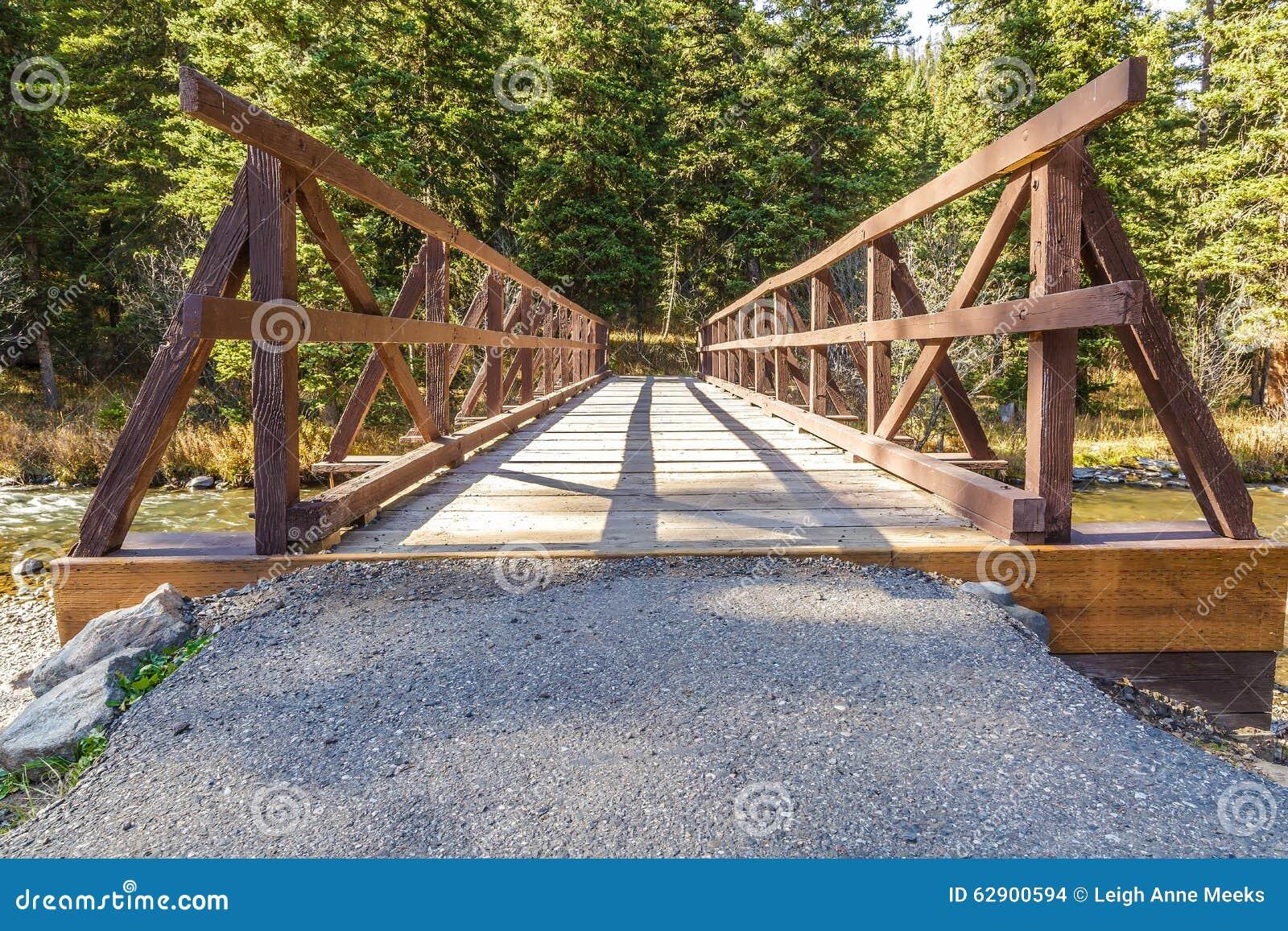 Hyalite-Nebenfluss-Brücke