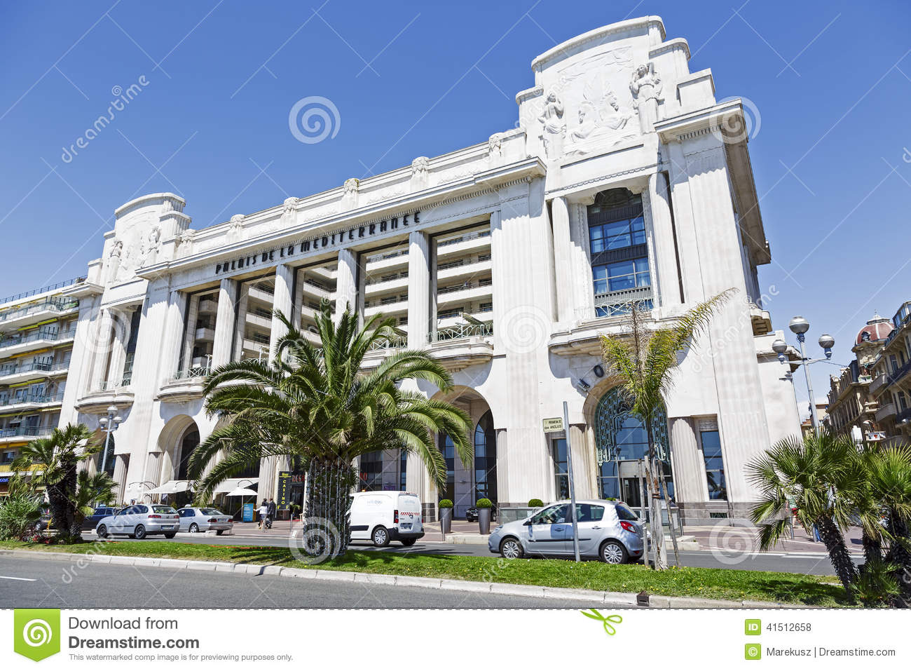 Célèbre Hyatt Regency Nice Palais De La Mediterranee Editorial Stock Photo  ZL49