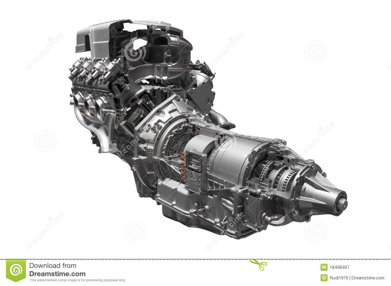 Royalty Free Stock Photography Hybrid Car Engine Image18468467 on hybrid engine animation
