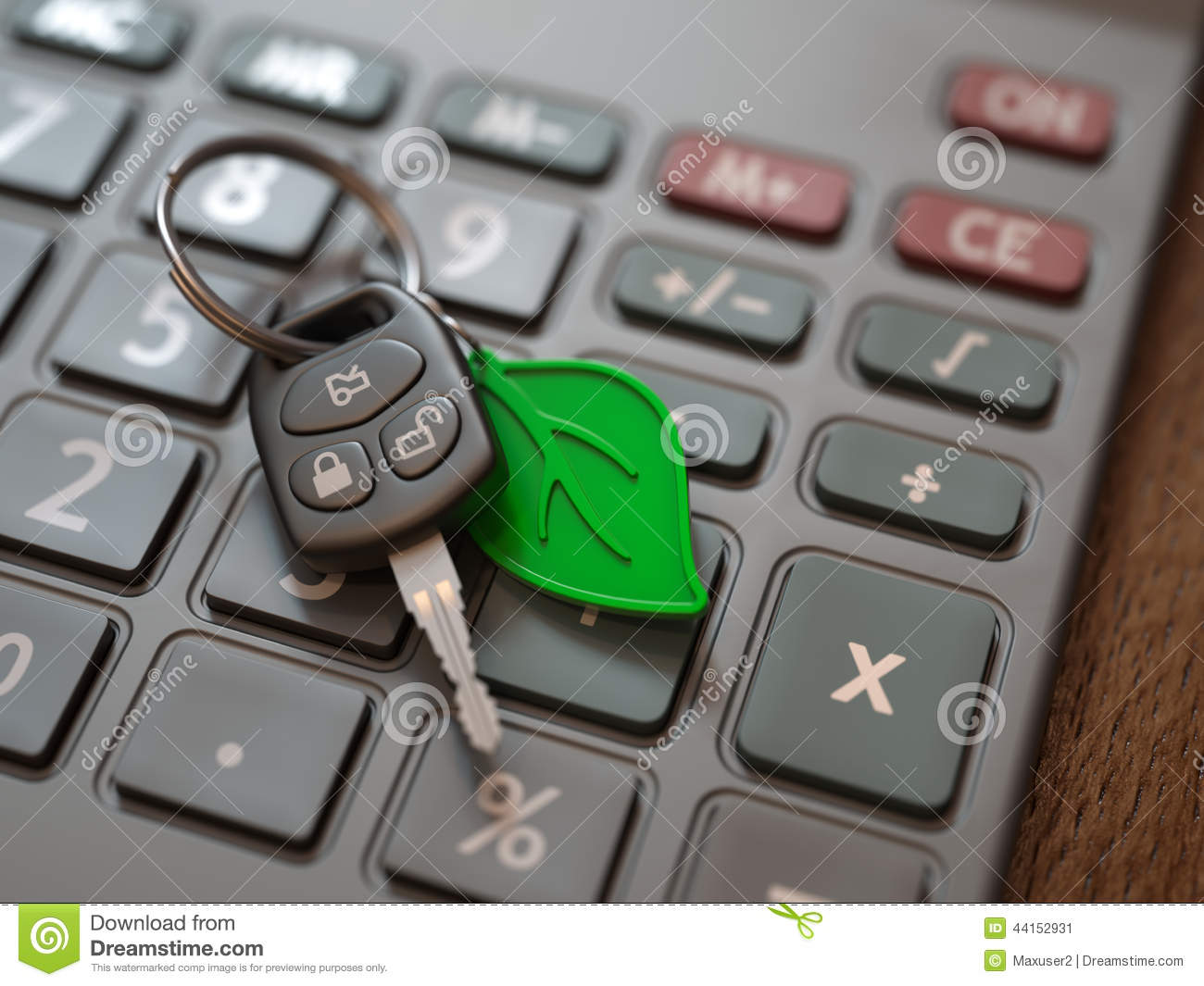 hybrid or electric car expenses calculation stock image image of