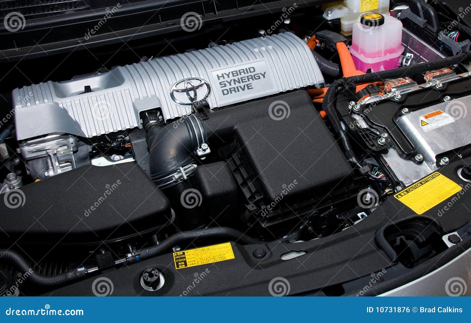 Hybrid engine editorial photo  Image of batteries