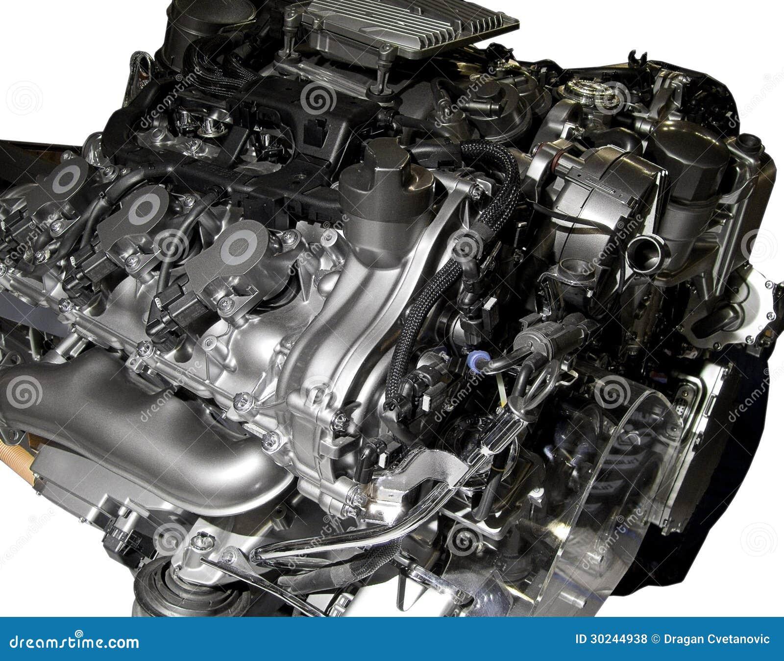 Hybrid Car Engine Royalty Free Stock Photos Image 30244938