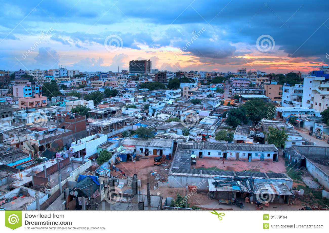slums of hyderabad india editorial stock image image of panoramic 31779164. Black Bedroom Furniture Sets. Home Design Ideas