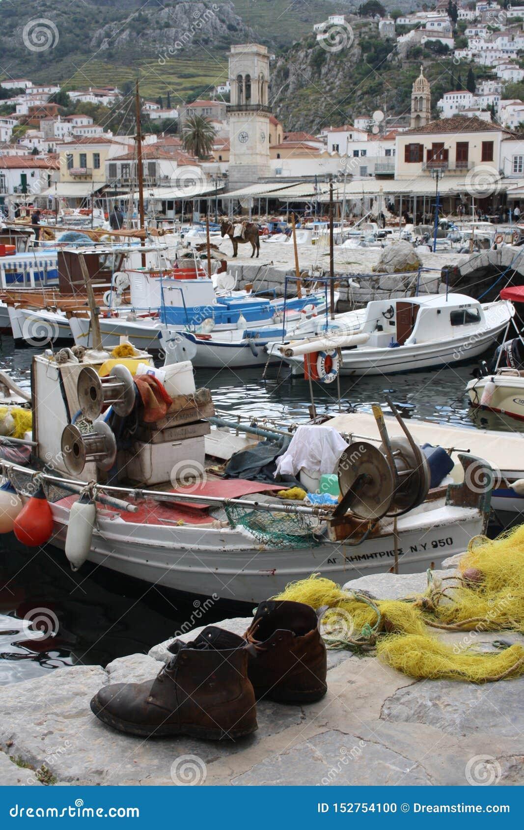 HYDRA grka wyspa