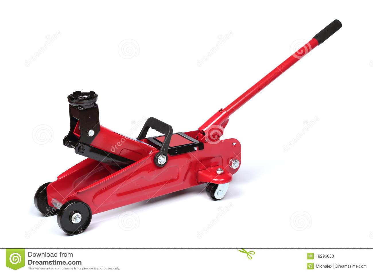 Hydraulic Floor Jack Stock Photos Image 18296063