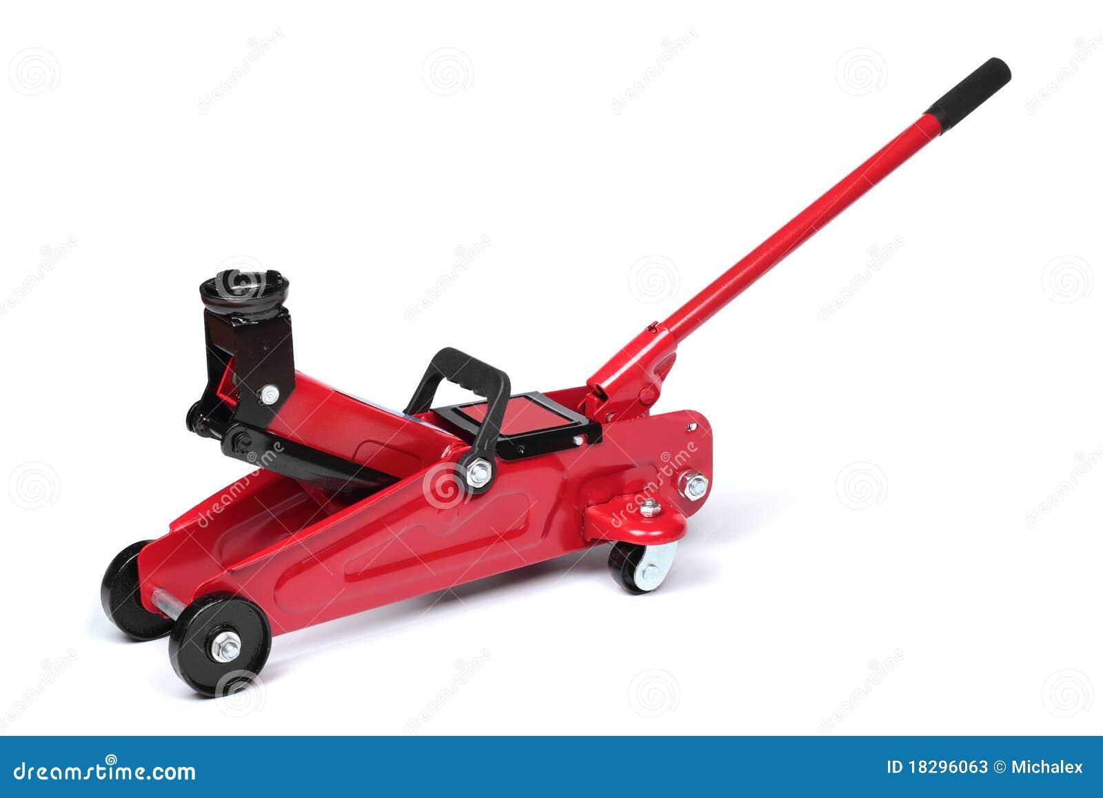 Red hydraulic f...