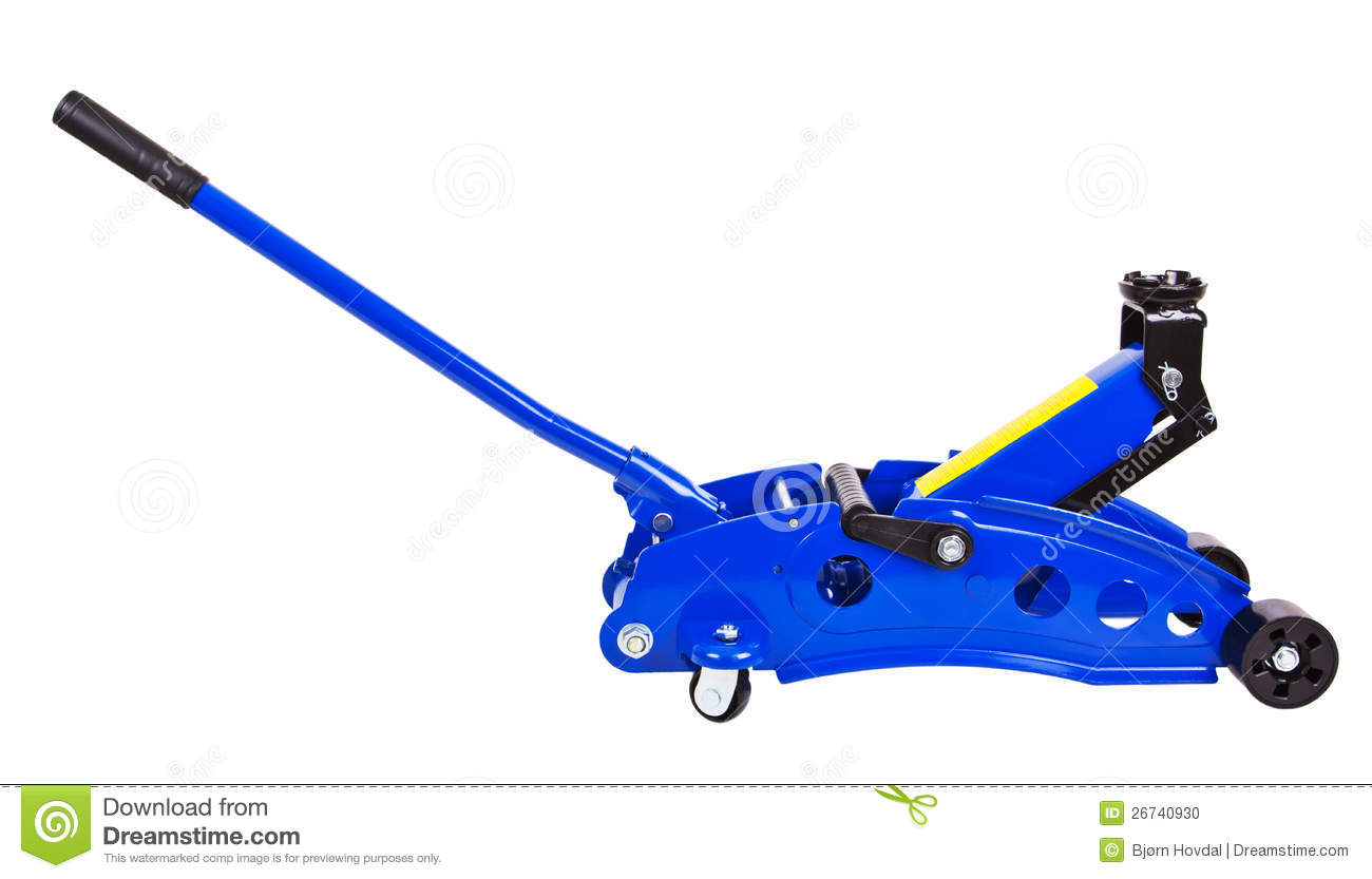 Royalty Free Stock Photo. Download Hydraulic Floor Jack ...