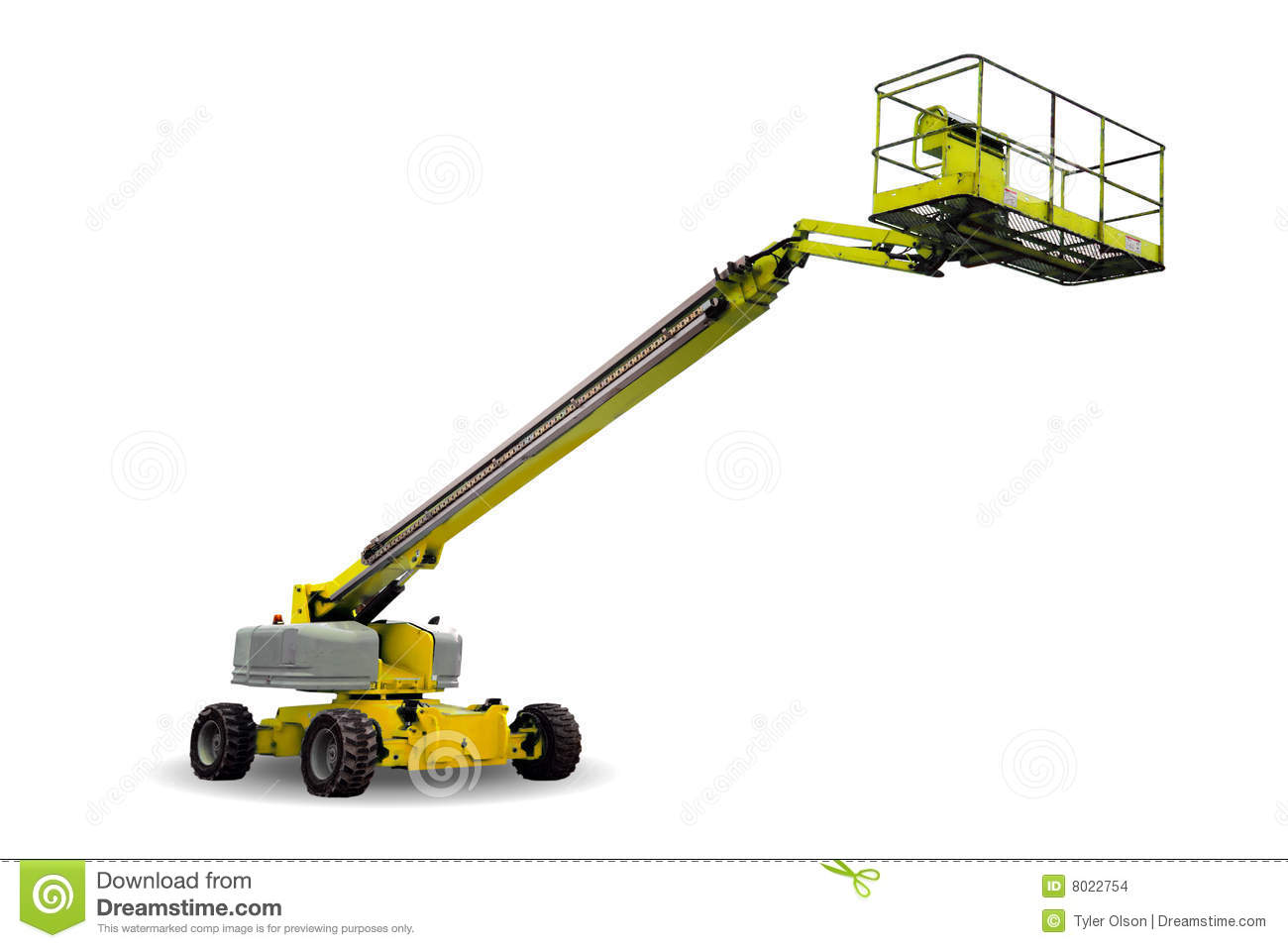 Hydraulic Lift Stock Images - Image: 8022754