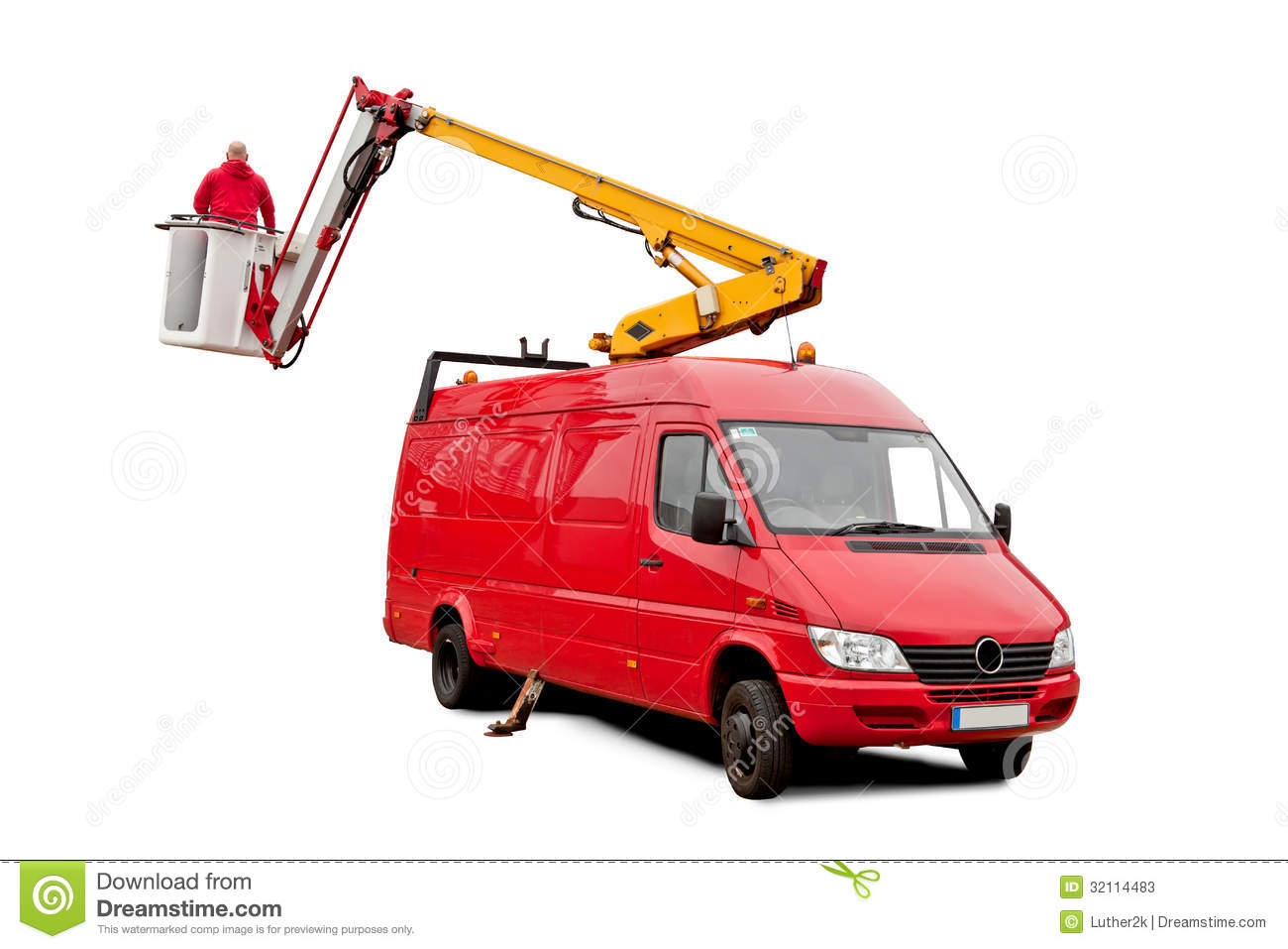 Working Auto Lift : Hydraulic lift stock photos image