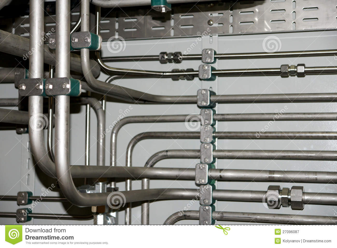 Hydraulic Pipes Royalty Free Stock Photography - Image: 27096087