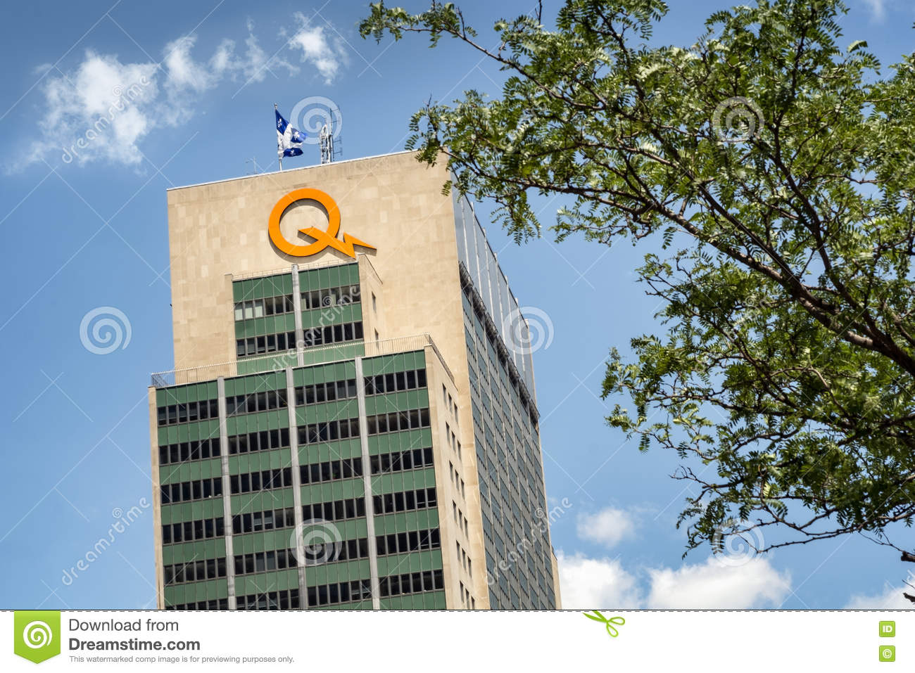 Hydro Quebec building