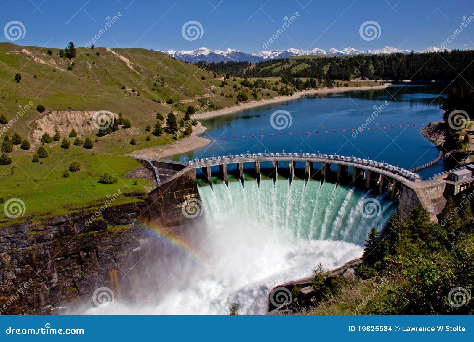 Hydroelektrisk fördämning