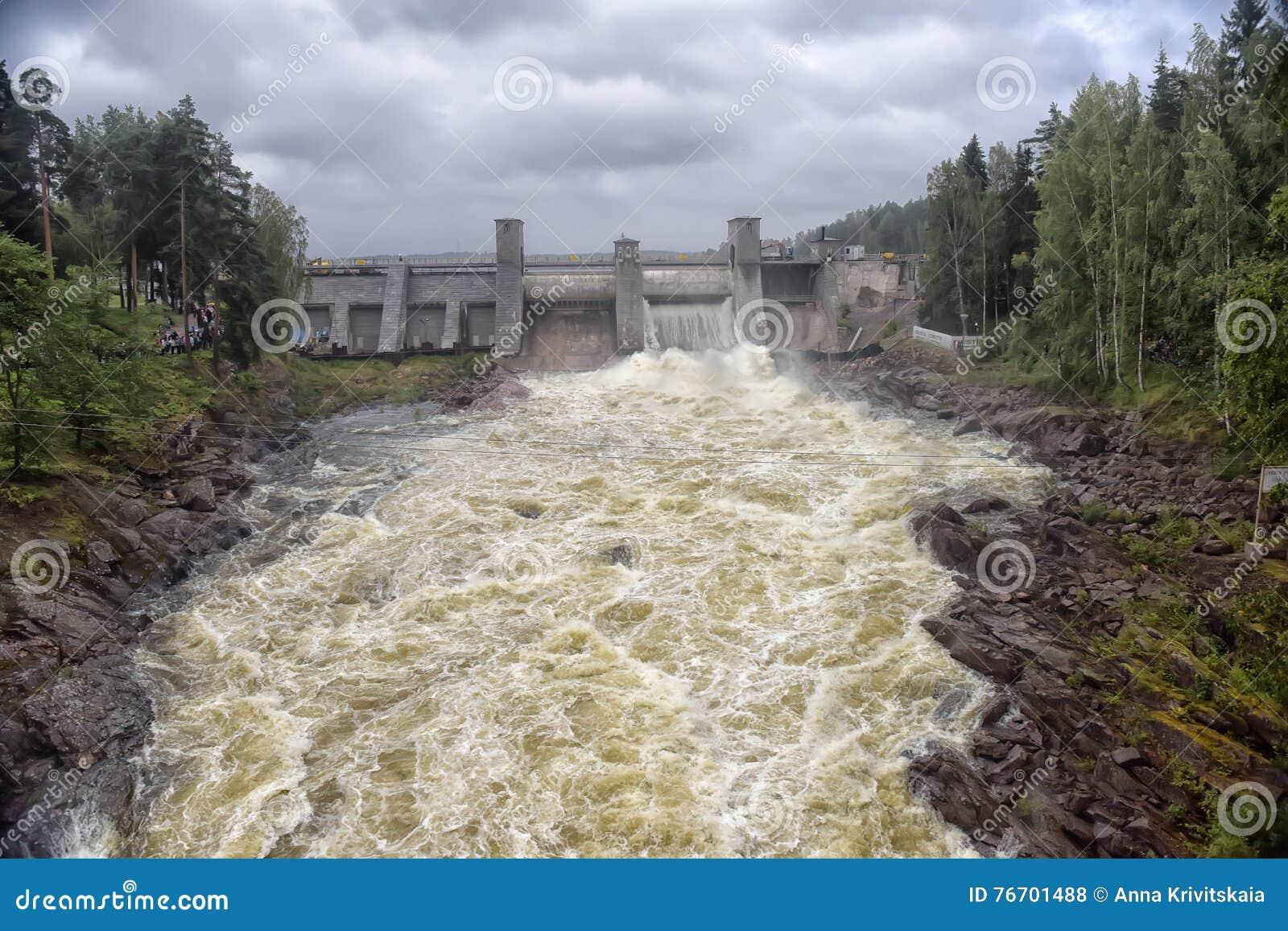 Hydroelektrisk imatraströmstation