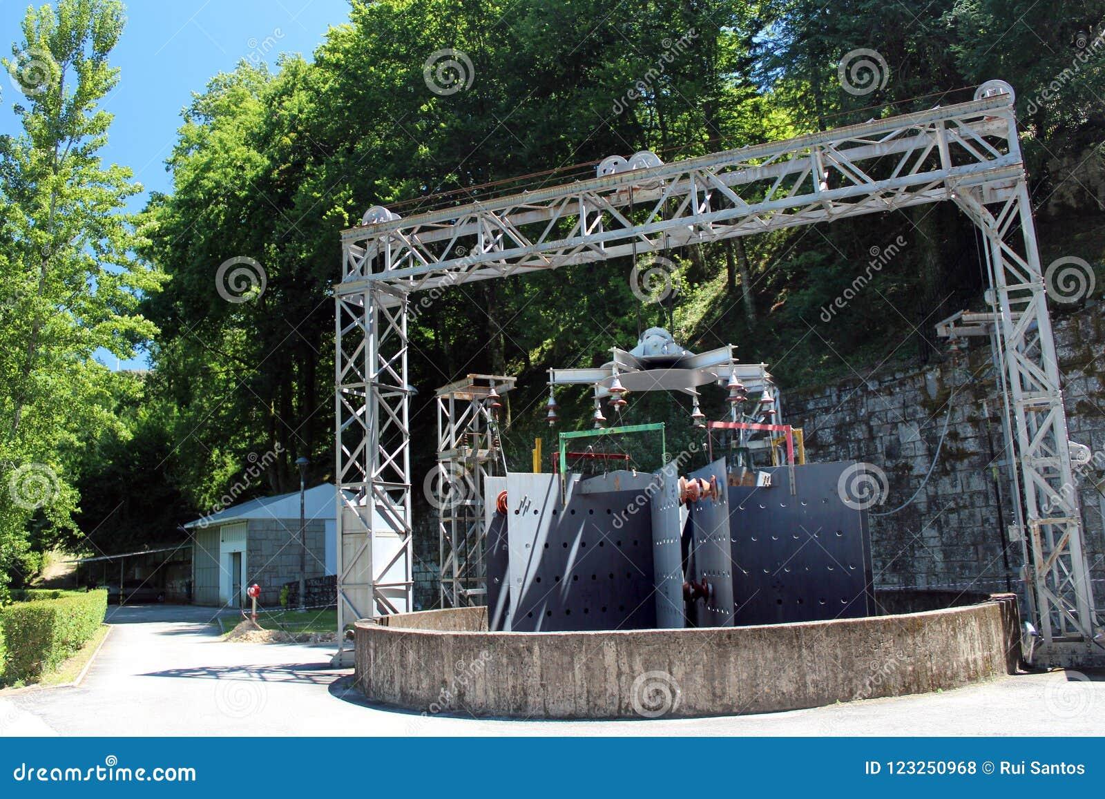 Hydroelektryczny elektrowni dynamo