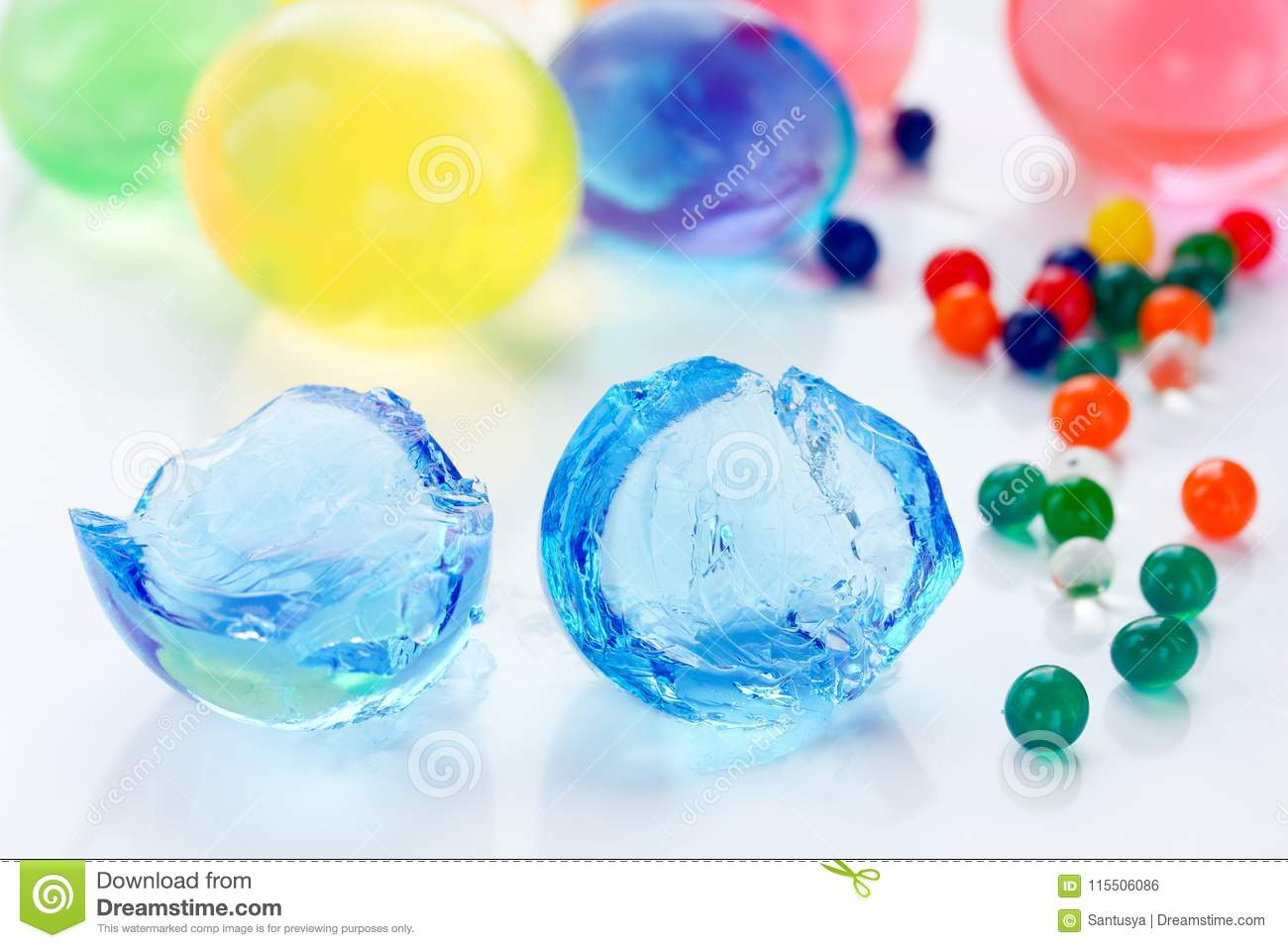 how to make hydrogel beads